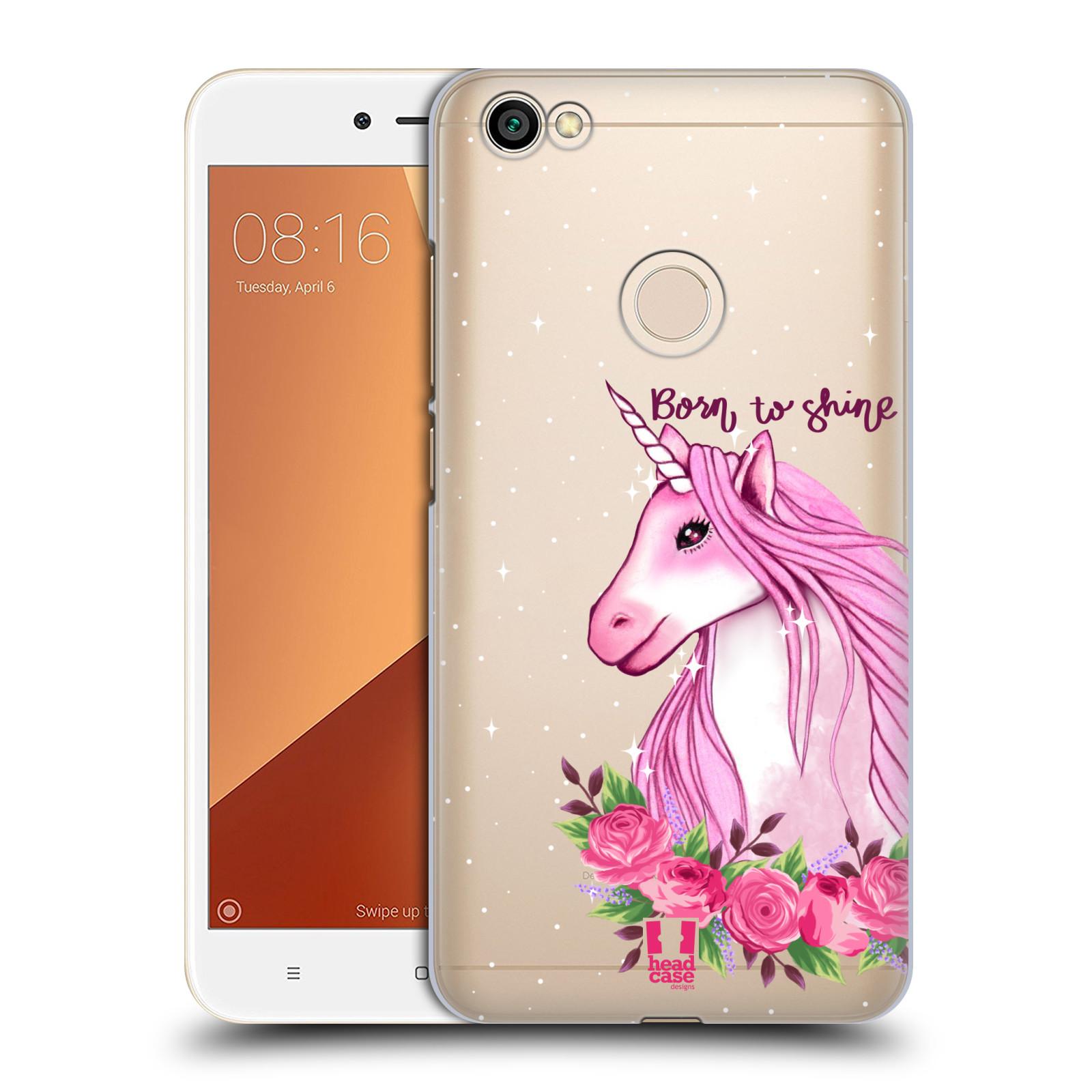 Plastové pouzdro na mobil Xiaomi Redmi Note 5A - Head Case - Jednorožec - Born to shine