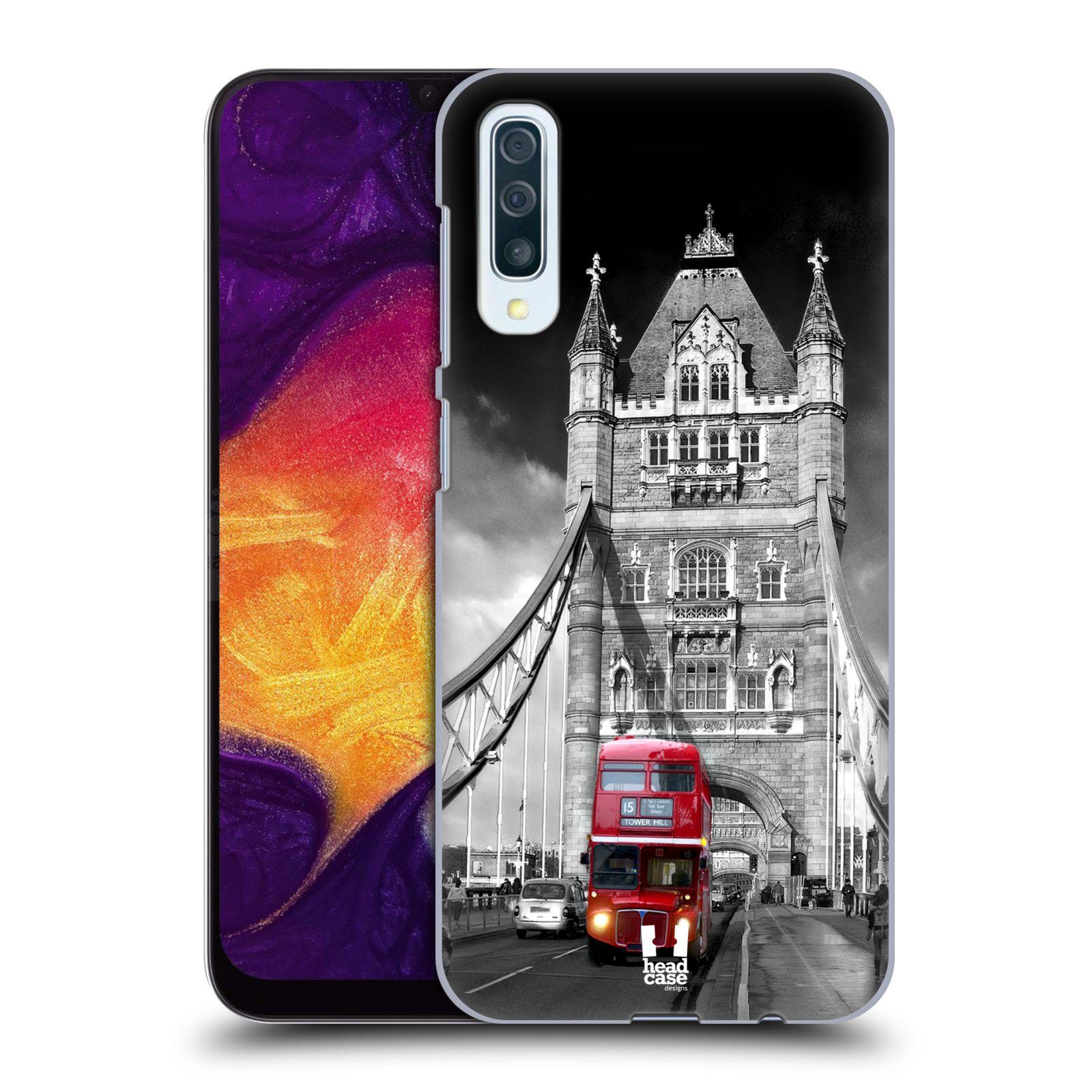 Plastové pouzdro na mobil Samsung Galaxy A50 - Head Case - MOST V LONDÝNĚ