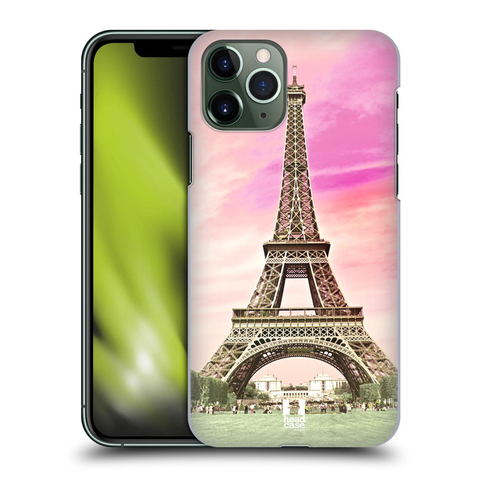 iphone 6s gumovy kryt , Plastové pouzdro na mobil Apple iPhone 11 Pro - Head Case - RŮŽOVÁ AIFELOVKA