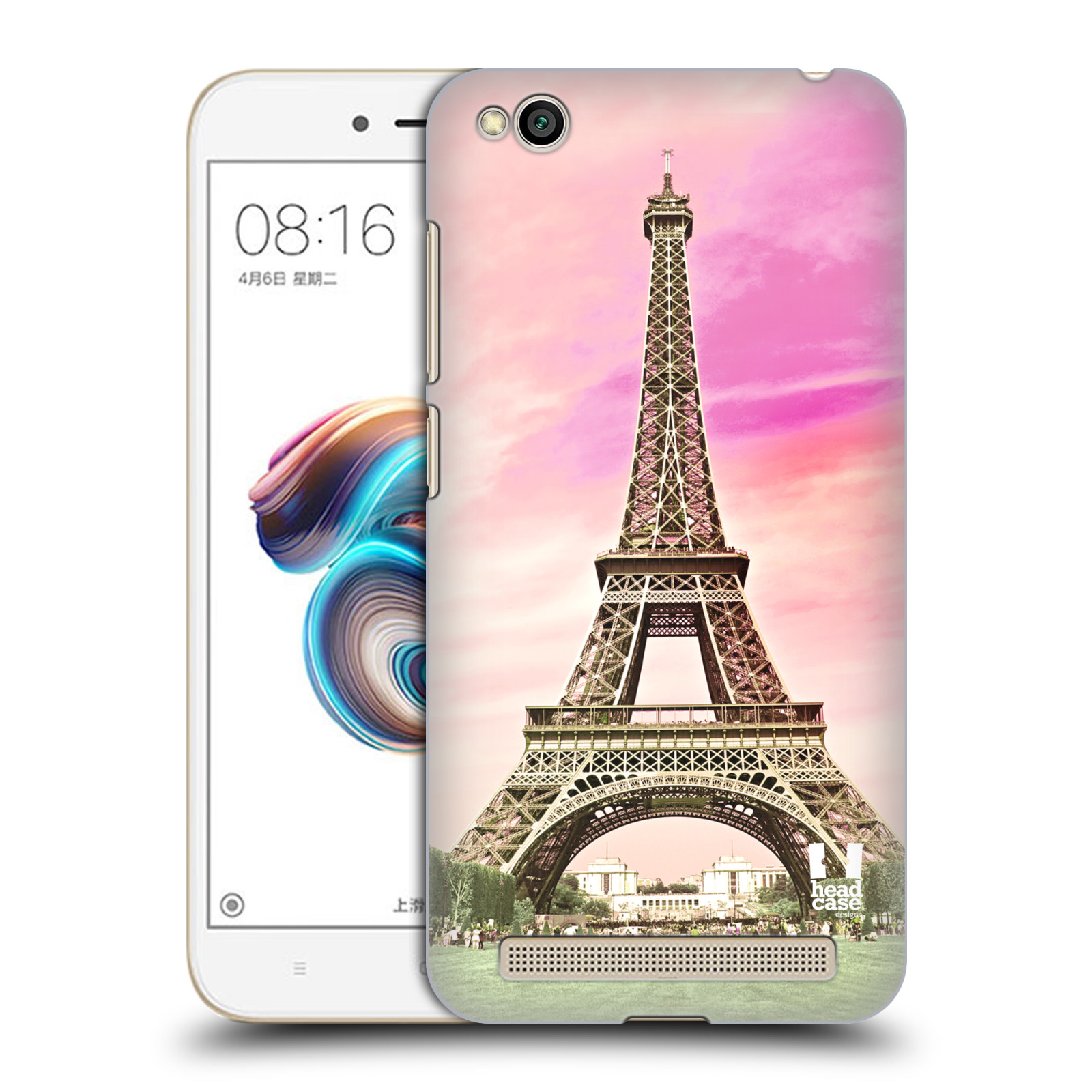 Plastové pouzdro na mobil Xiaomi Redmi 5A - Head Case - RŮŽOVÁ AIFELOVKA