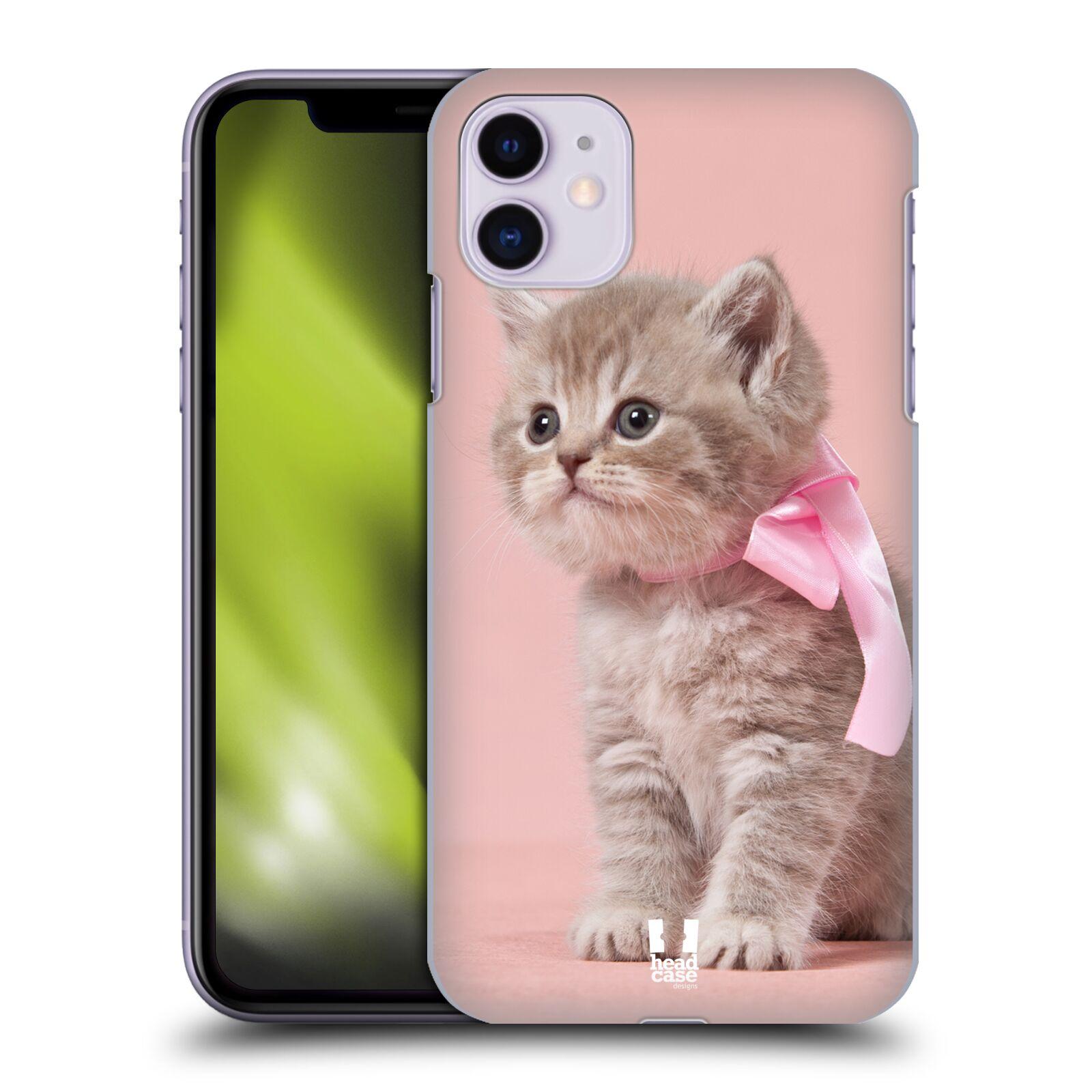 Plastové pouzdro na mobil Apple iPhone 11 - iSaprio - KOTĚ S MAŠLÍ