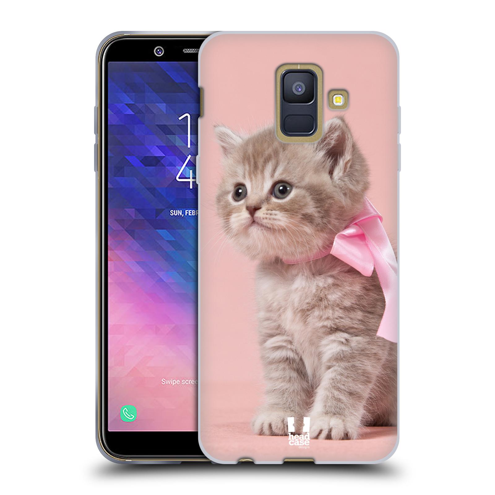 Silikonové pouzdro na mobil Samsung Galaxy A6 (2018) - Head Case - KOTĚ S MAŠLÍ