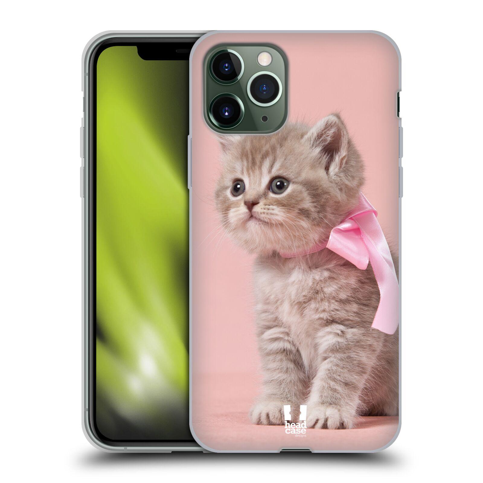 obal iphone x spigen - Silikonové pouzdro na mobil Apple iPhone 11 Pro - Head Case - KOTĚ S MAŠLÍ