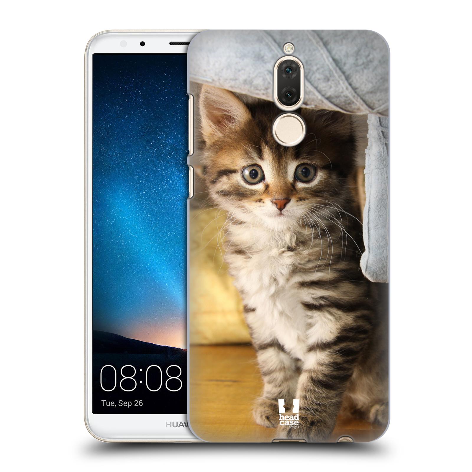 Plastové pouzdro na mobil Huawei Mate 10 Lite - Head Case - ZVÍDAVÉ KOTĚ
