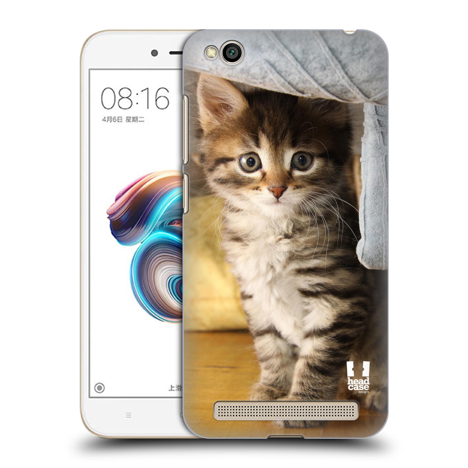 Plastové pouzdro na mobil Xiaomi Redmi 5A - Head Case - ZVÍDAVÉ KOTĚ