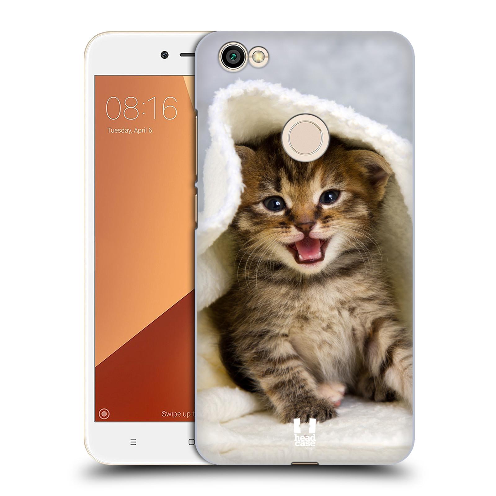 Plastové pouzdro na mobil Xiaomi Redmi Note 5A - Head Case - KOTĚ V OSUŠCE