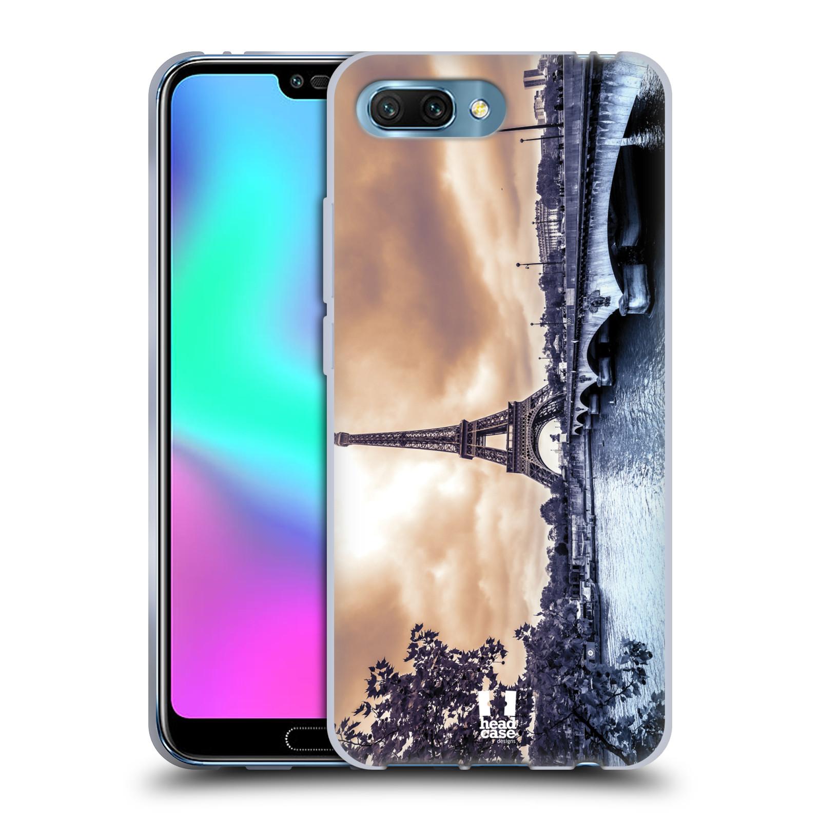 Silikonové pouzdro na mobil Honor 10 - Head Case - SUNSET SKYLINE PAŘÍŽ 57e1e79263e