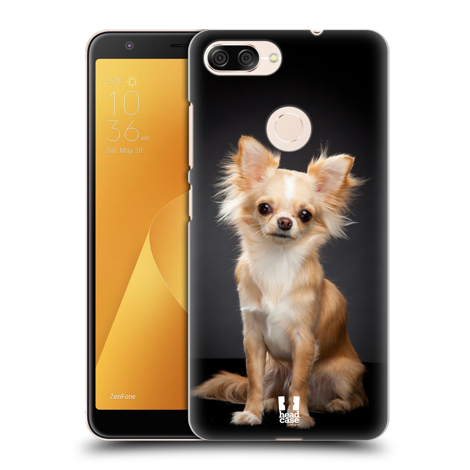 Plastové pouzdro na mobil Asus ZenFone Max Plus (M1) - Head Case - ČIVAVA (Plastový kryt či obal na mobilní telefon Asus ZenFone Max Plus M1 ZB570TL s motivem ČIVAVA)