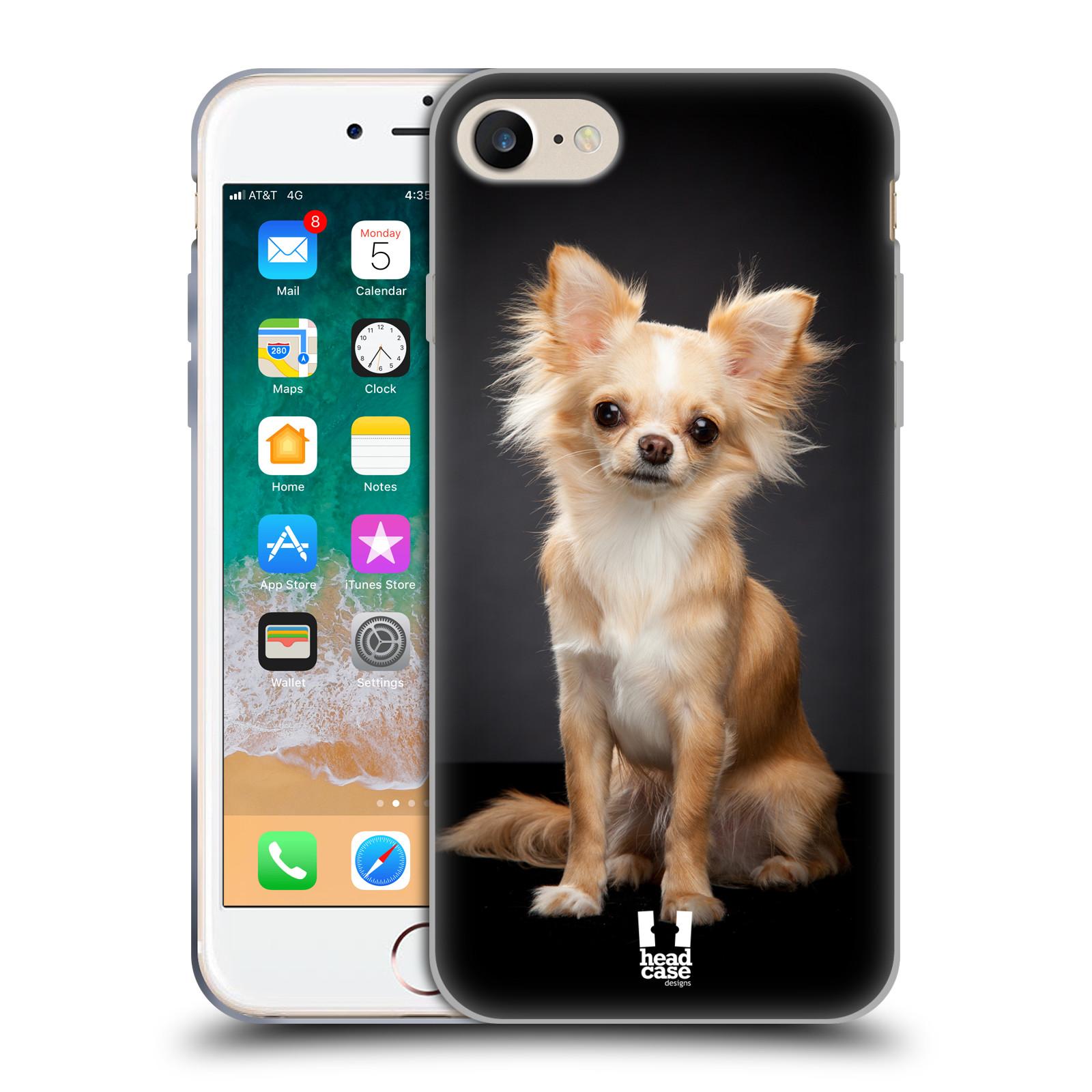 Silikonové pouzdro na mobil Apple iPhone SE (2020) - Head Case - ČIVAVA