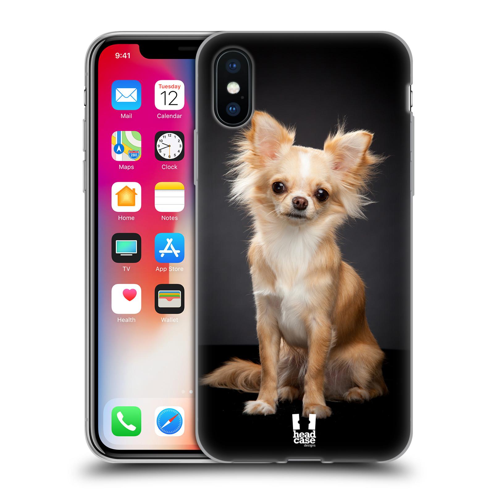 Silikonové pouzdro na mobil Apple iPhone XS - Head Case - ČIVAVA