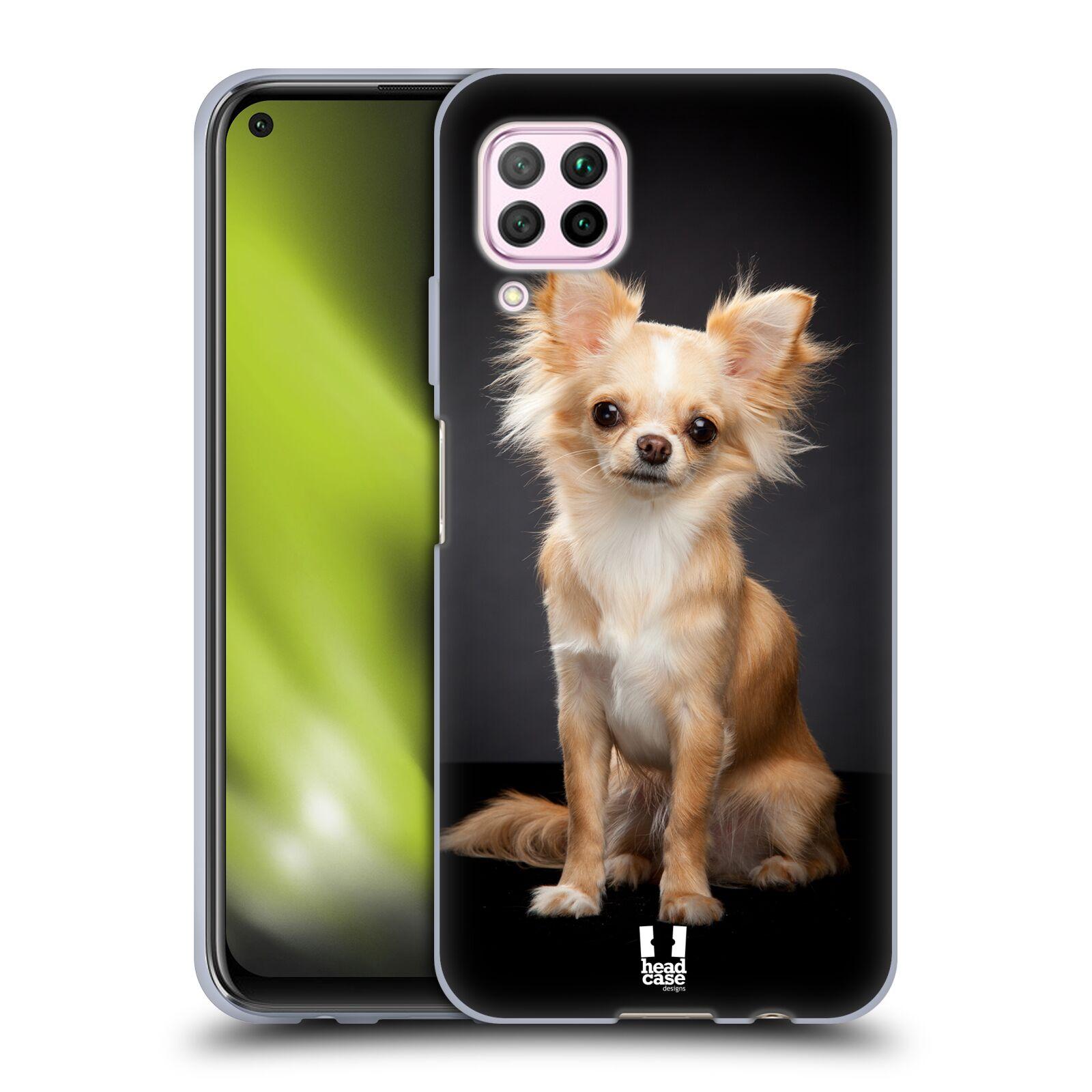 Silikonové pouzdro na mobil Huawei P40 Lite - Head Case - ČIVAVA