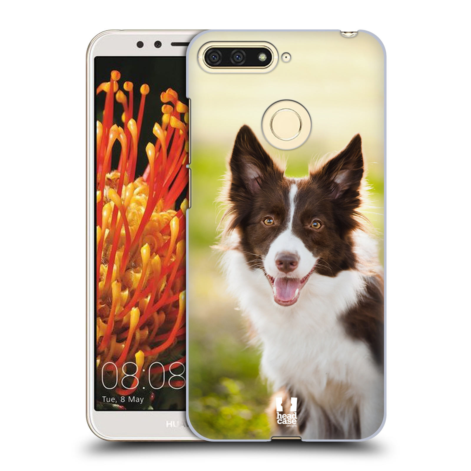Plastové pouzdro na mobil Huawei Y6 Prime 2018 - Head Case - BORDER KÓLIE 1e5f978a7a2