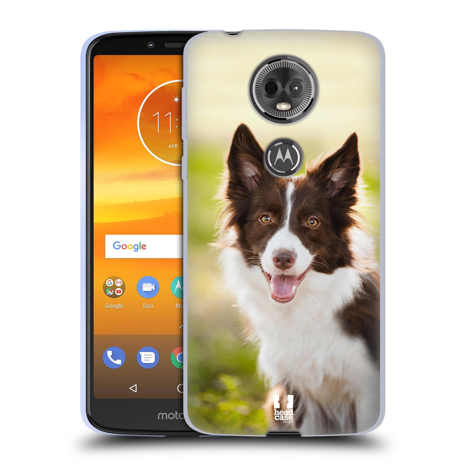 Silikonové pouzdro na mobil Motorola Moto E5 Plus - Head Case - BORDER KÓLIE