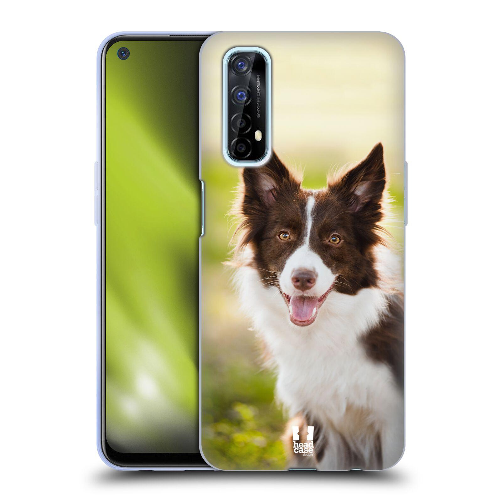 Silikonové pouzdro na mobil Realme 7 - Head Case - BORDER KÓLIE