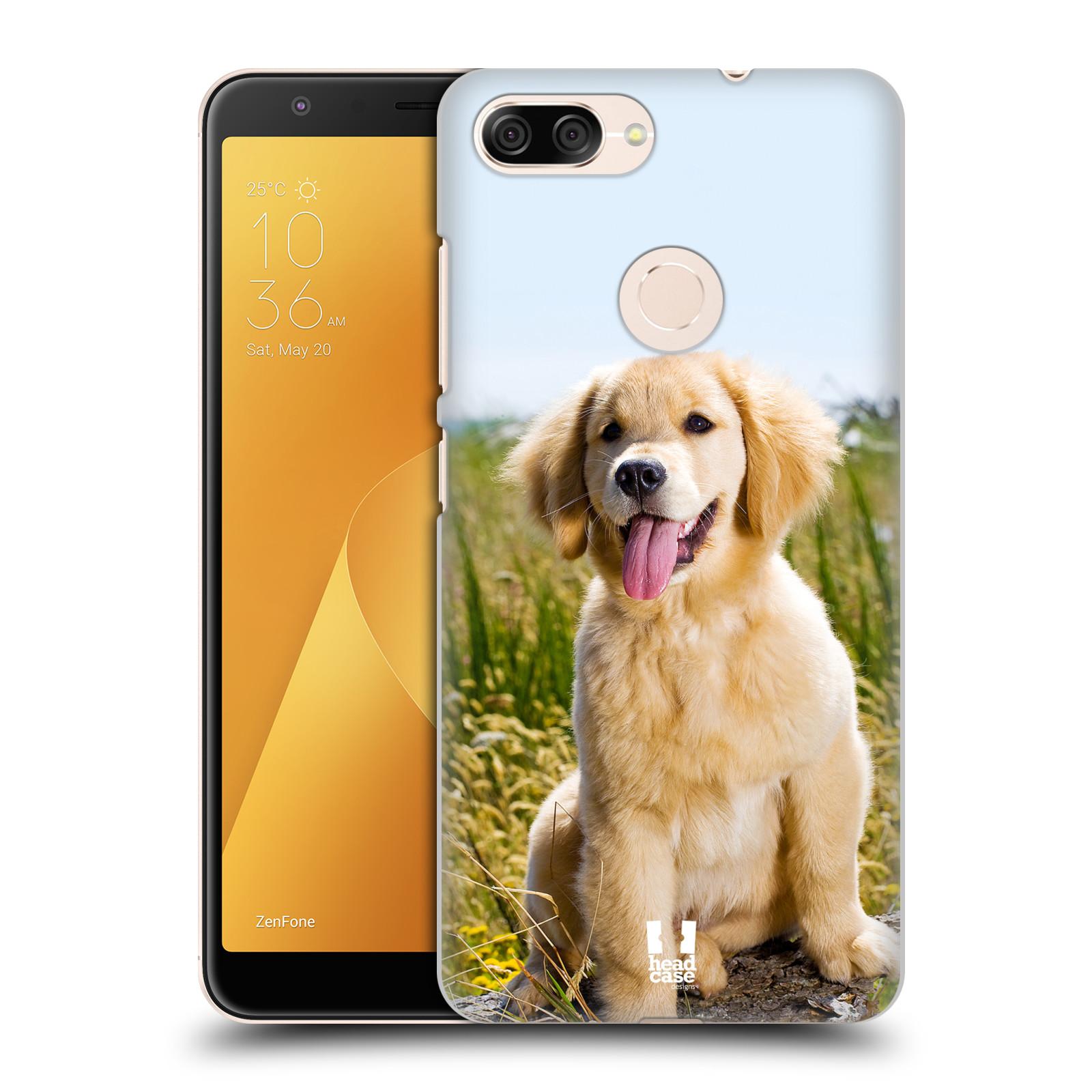 Plastové pouzdro na mobil Asus ZenFone Max Plus (M1) - Head Case - RETRÍVR (Plastový kryt či obal na mobilní telefon Asus ZenFone Max Plus M1 ZB570TL s motivem RETRÍVR)