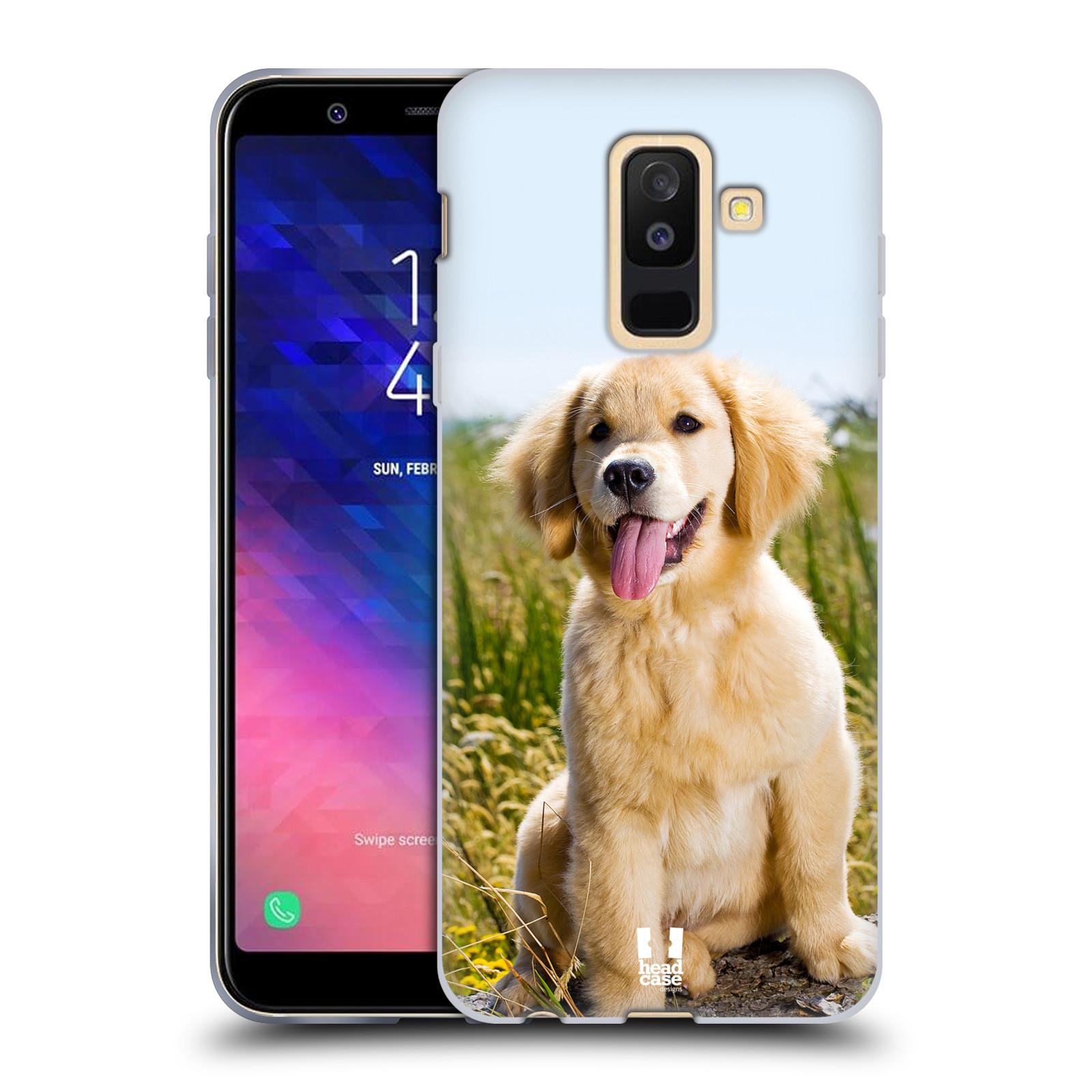 Silikonové pouzdro na mobil Samsung Galaxy A6 Plus (2018) - Head Case - RETRÍVR