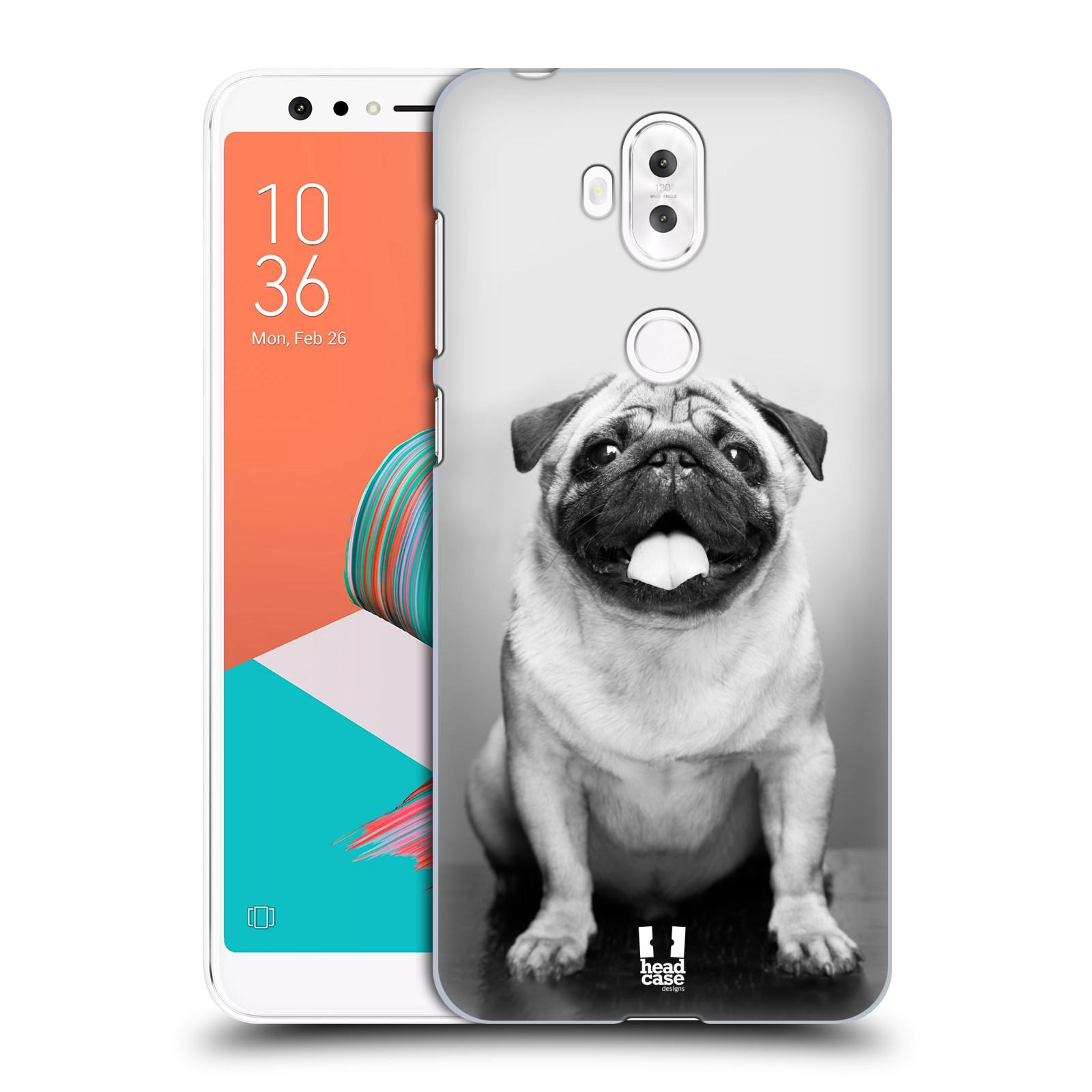 Plastové pouzdro na mobil Asus ZenFone 5 Lite ZC600KL - Head Case - MOPSÍK (Plastový kryt či obal na mobilní telefon Asus ZenFone 5 Lite (ZC600KL) s motivem MOPSÍK)