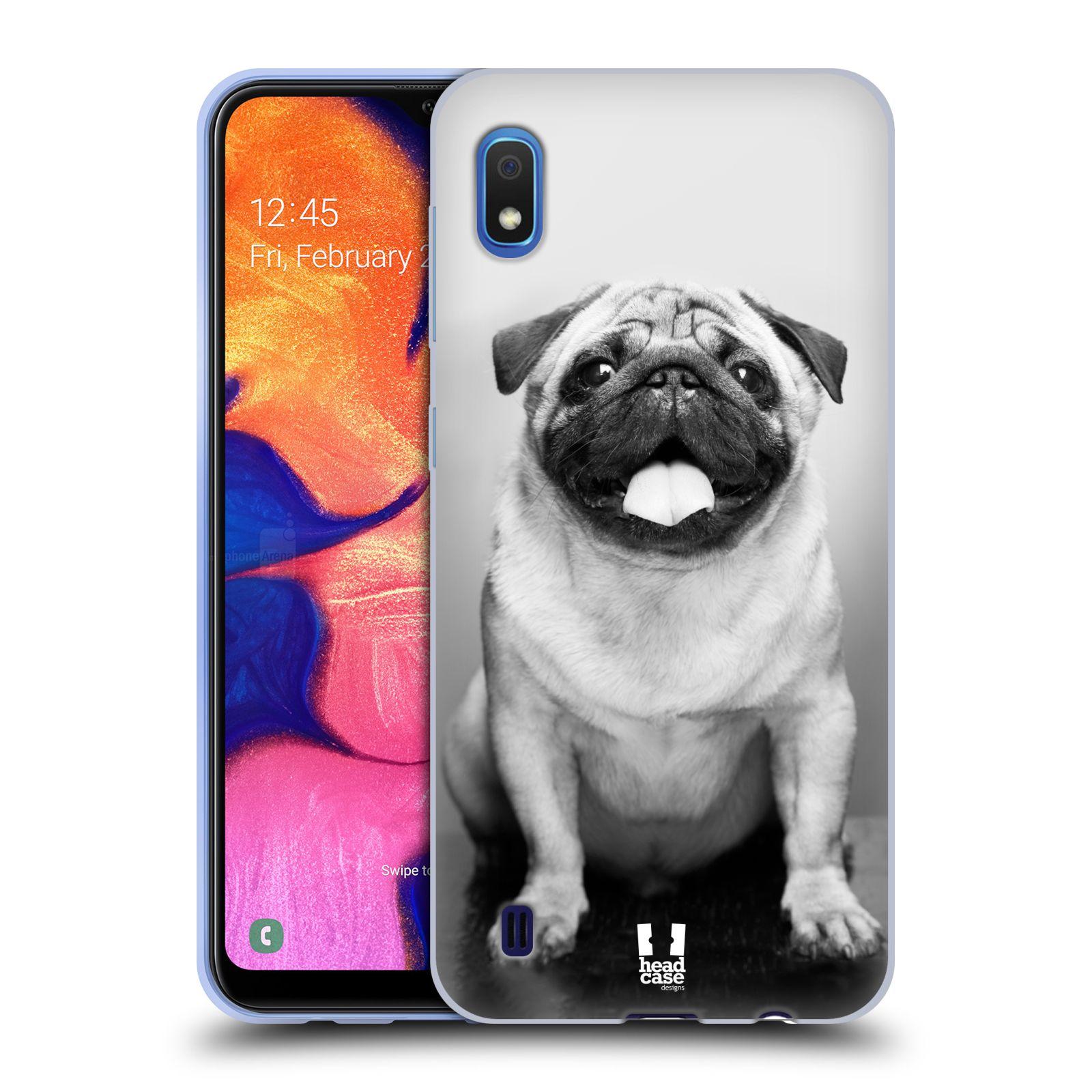 Silikonové pouzdro na mobil Samsung Galaxy A10 - Head Case - MOPSÍK