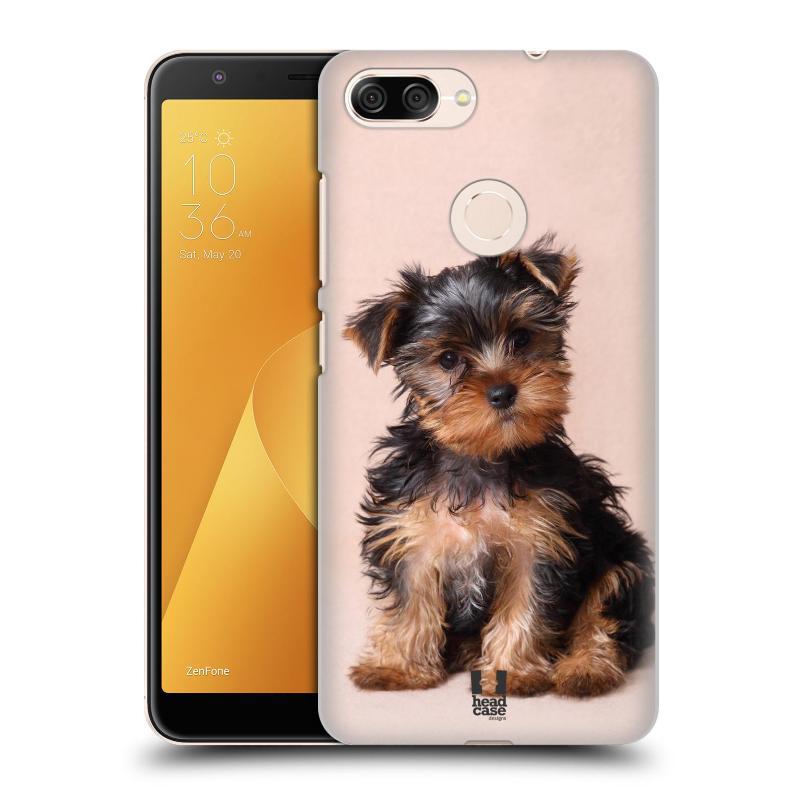Plastové pouzdro na mobil Asus ZenFone Max Plus (M1) - Head Case - YORKŠÍR (Plastový kryt či obal na mobilní telefon Asus ZenFone Max Plus M1 ZB570TL s motivem YORKŠÍR)