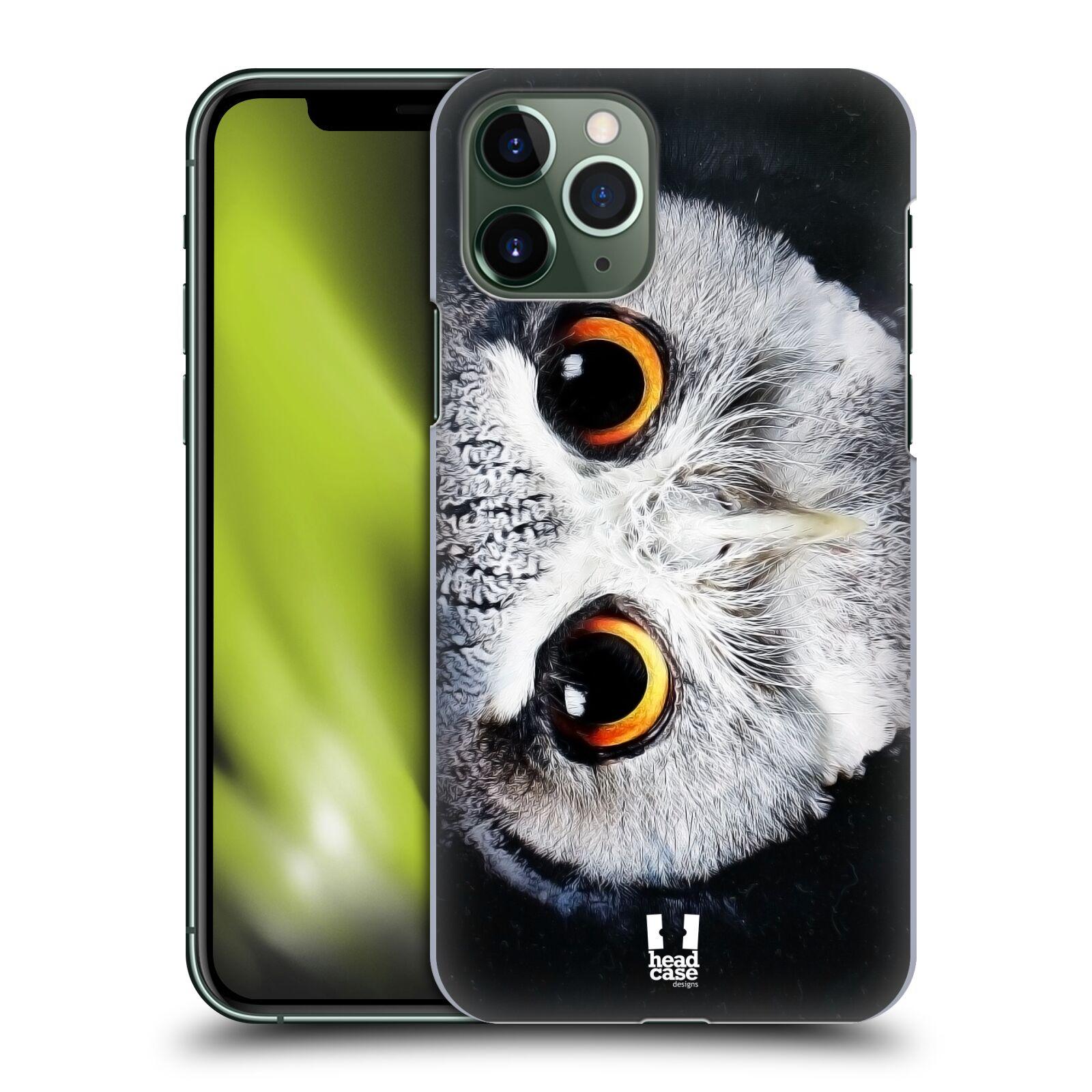 alza obaly iphone xs - Plastové pouzdro na mobil Apple iPhone 11 Pro - Head Case - TVÁŘ SOVA