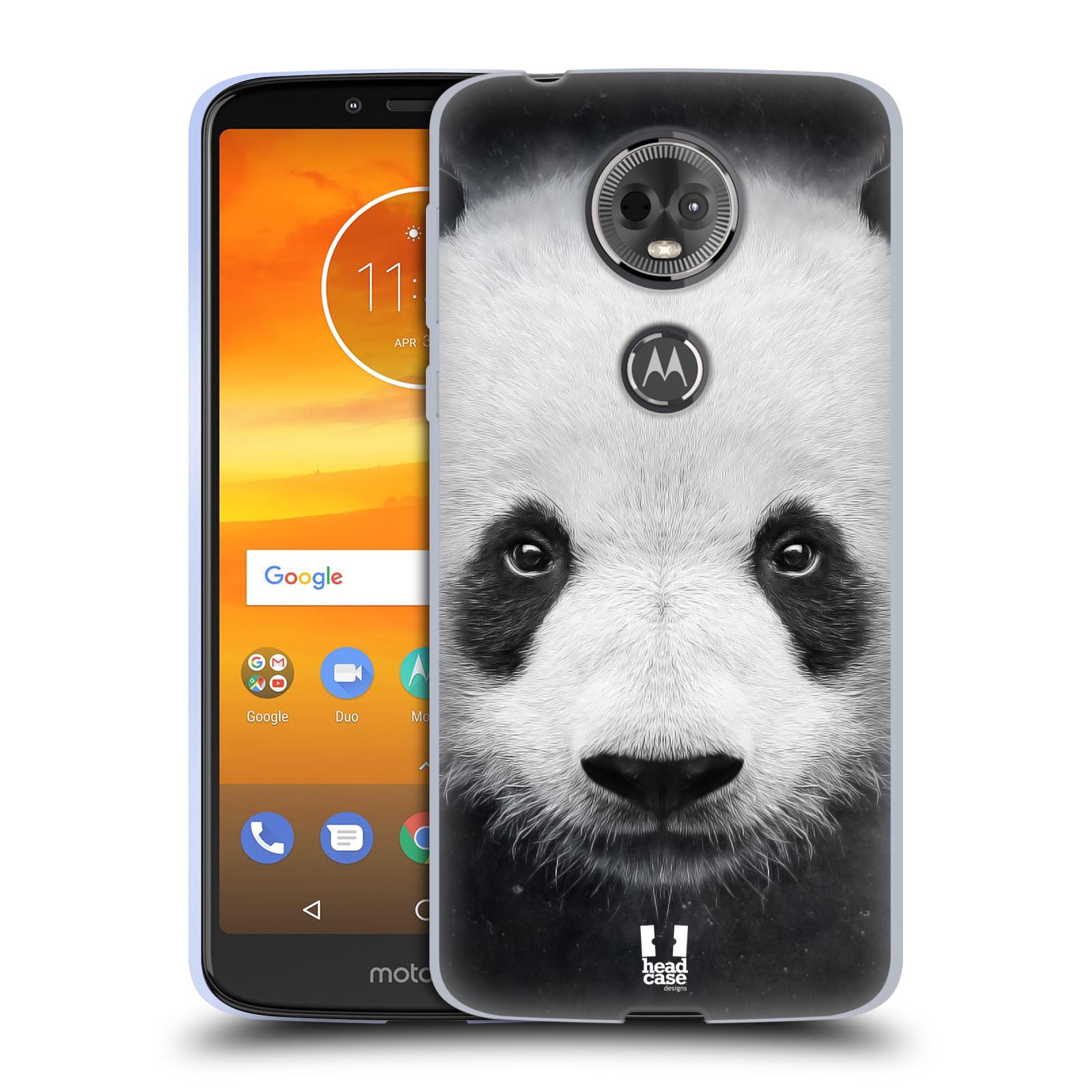 Silikonové pouzdro na mobil Motorola Moto E5 Plus - Head Case - TVÁŘ PANDA
