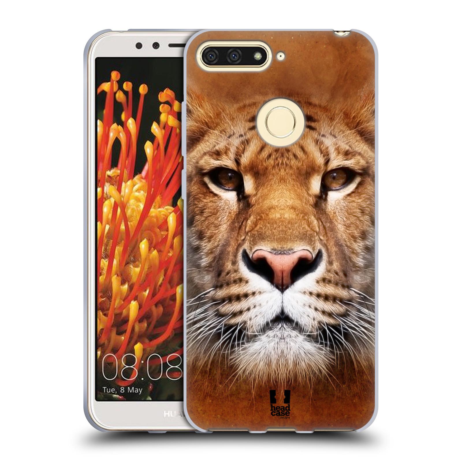Silikonové pouzdro na mobil Huawei Y6 Prime (2018) - Head Case - TVÁŘ LIGER