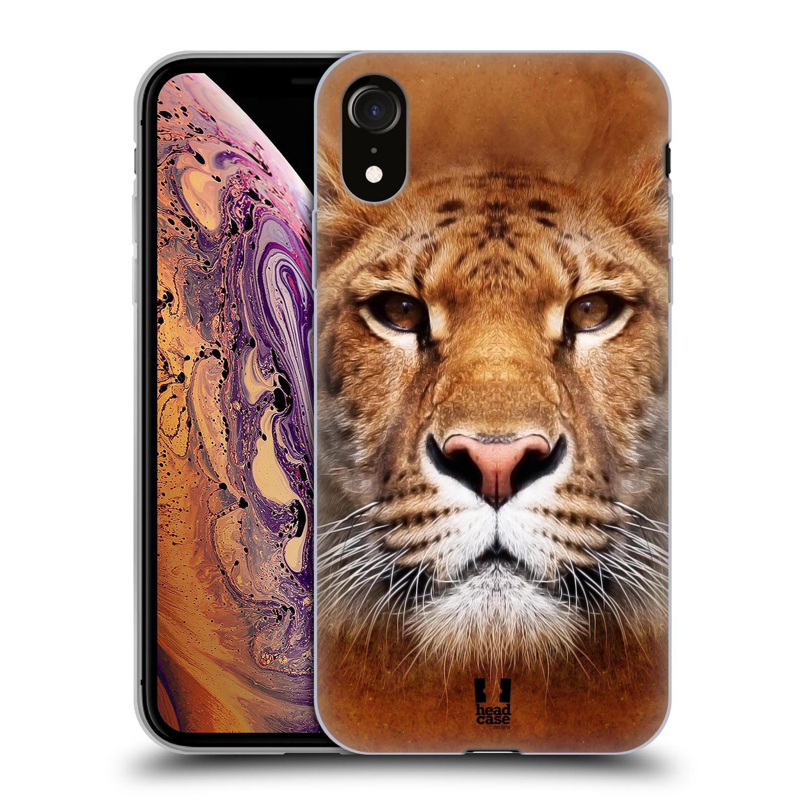 Silikonové pouzdro na mobil Apple iPhone XR - Head Case - TVÁŘ LIGER
