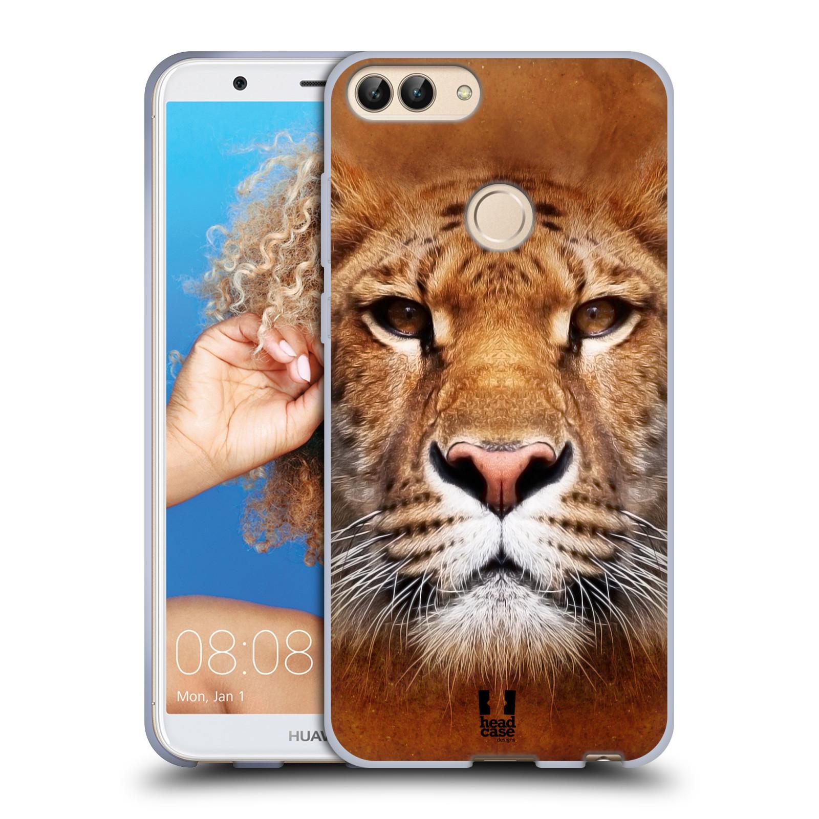 Silikonové pouzdro na mobil Huawei P Smart - Head Case - TVÁŘ LIGER