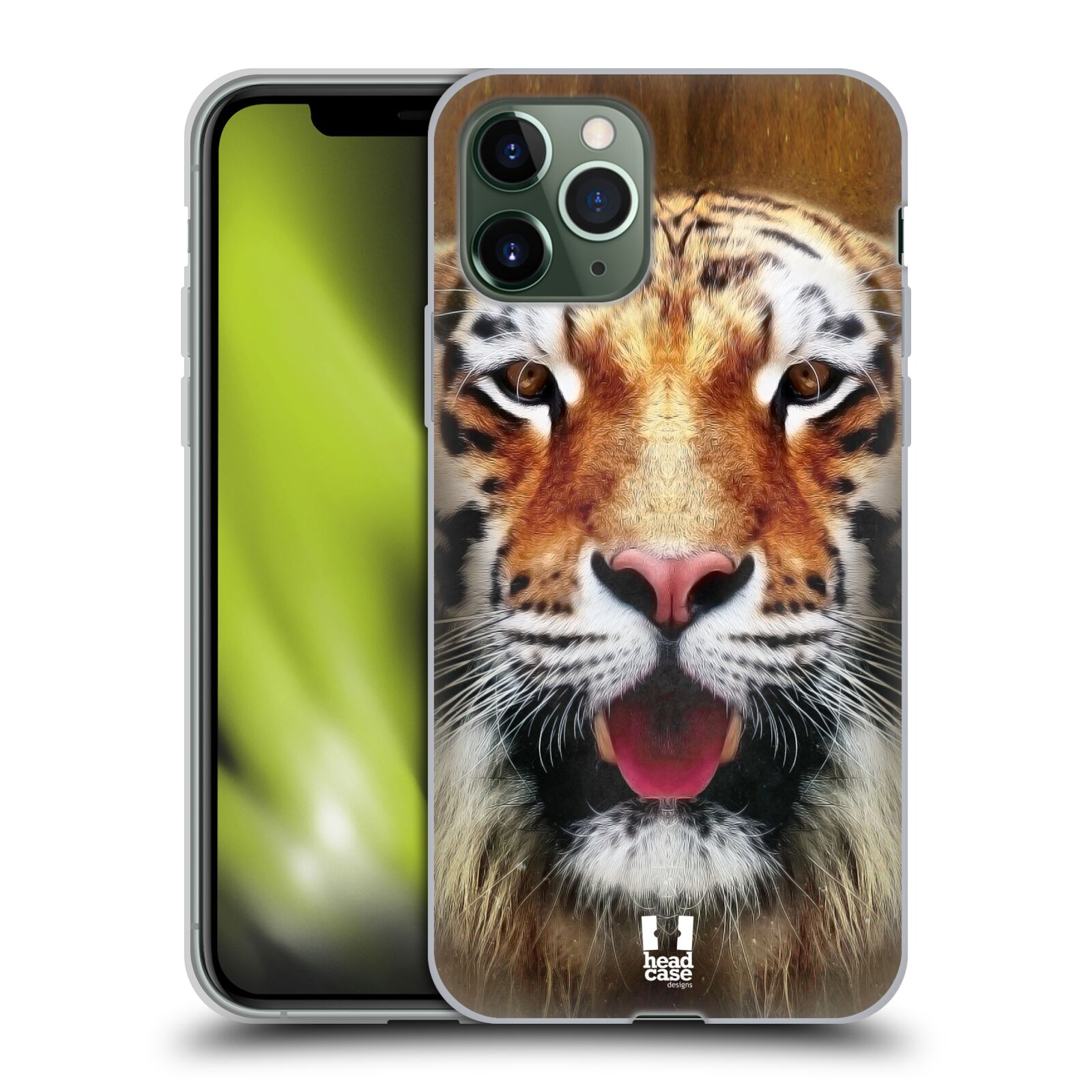 gucci iphone 8 hülle fake | Silikonové pouzdro na mobil Apple iPhone 11 Pro - Head Case - TVÁŘ TYGR