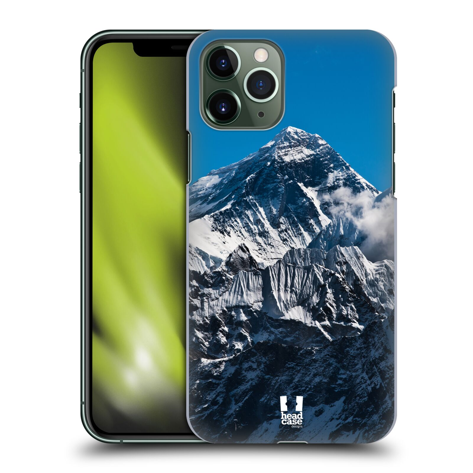 Plastové pouzdro na mobil Apple iPhone 11 Pro - Head Case - Mount Everest Peak