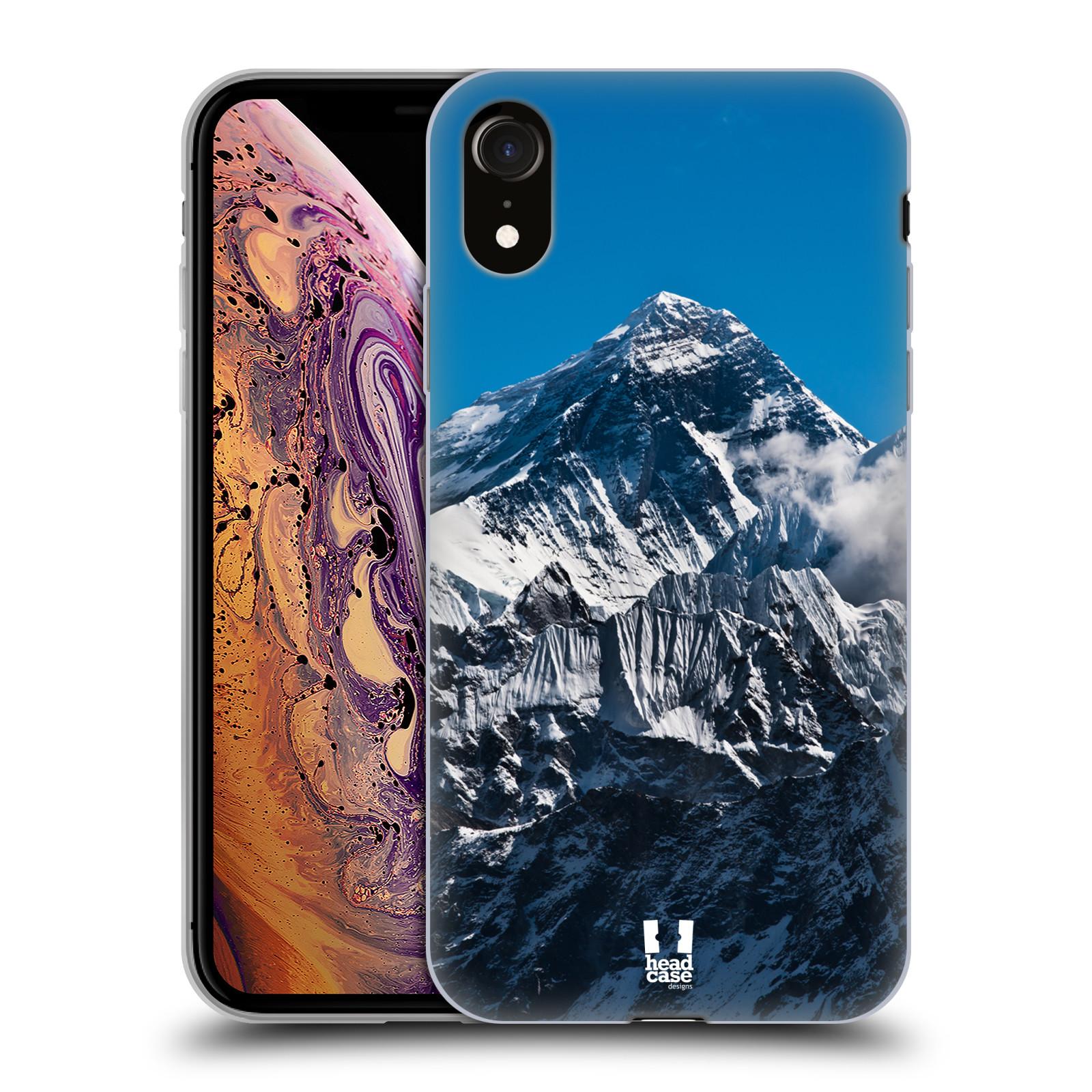 Silikonové pouzdro na mobil Apple iPhone XR - Head Case - Mount Everest Peak f53accd937d