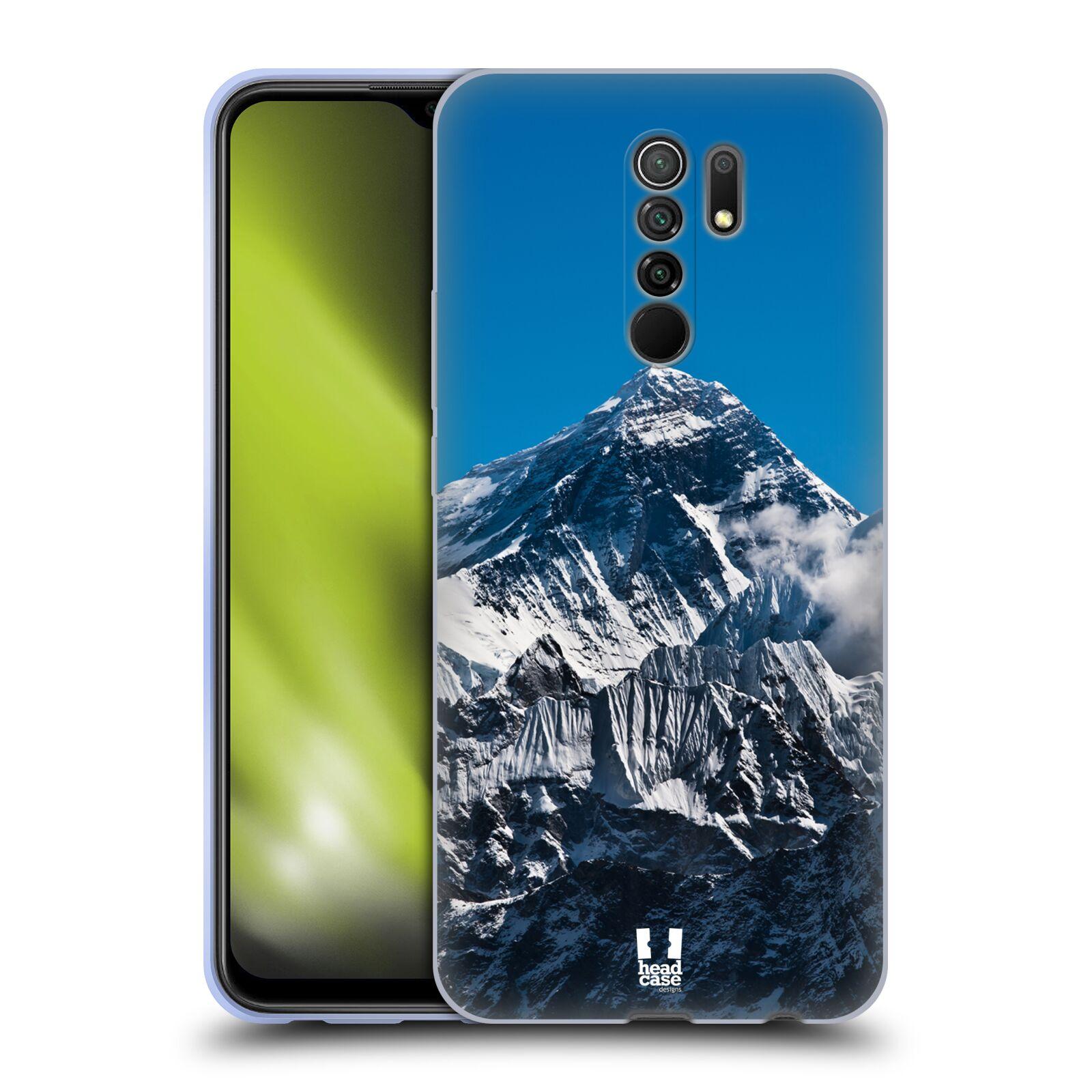 Silikonové pouzdro na mobil Xiaomi Redmi 9 - Head Case - Mount Everest Peak