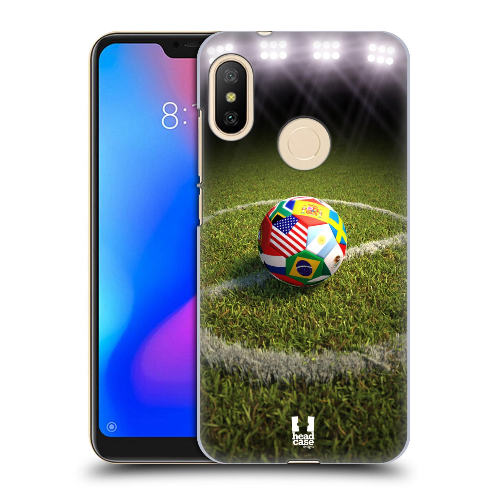 Plastové pouzdro na mobil Xiaomi Mi A2 Lite - Head Case - FOTBALOVÝ MÍČ ZEMÍ