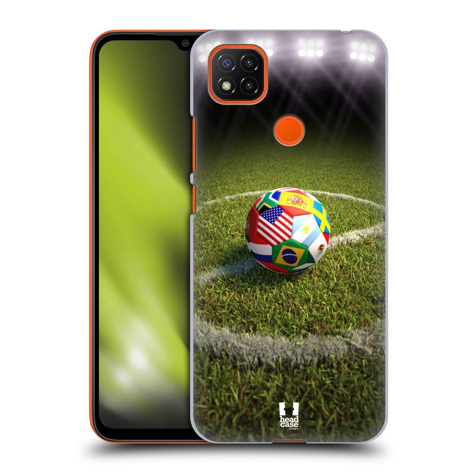 Plastové pouzdro na mobil Xiaomi Redmi 9C - Head Case - FOTBALOVÝ MÍČ ZEMÍ