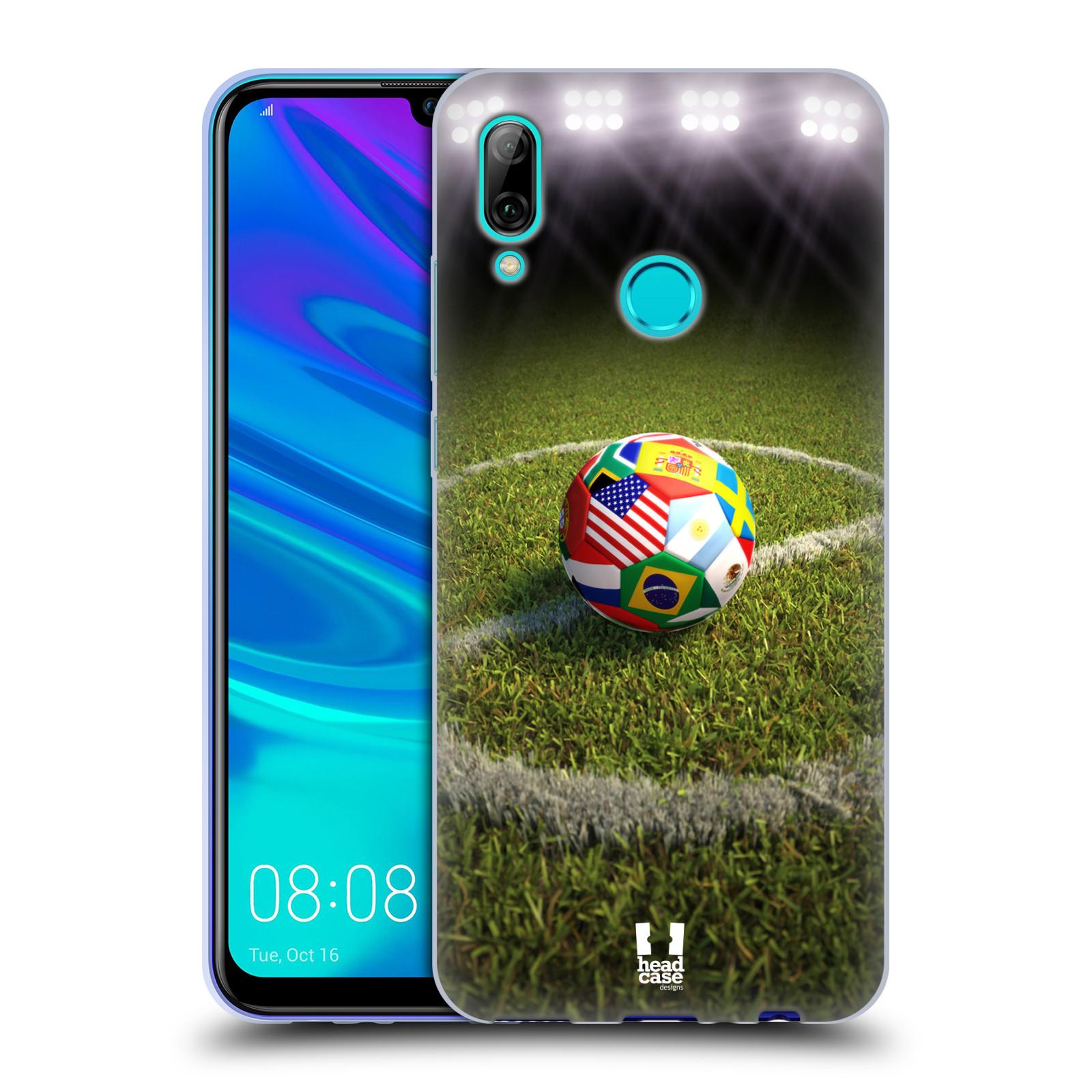 Silikonové pouzdro na mobil Huawei P Smart (2019) - Head Case - FOTBALOVÝ MÍČ ZEMÍ
