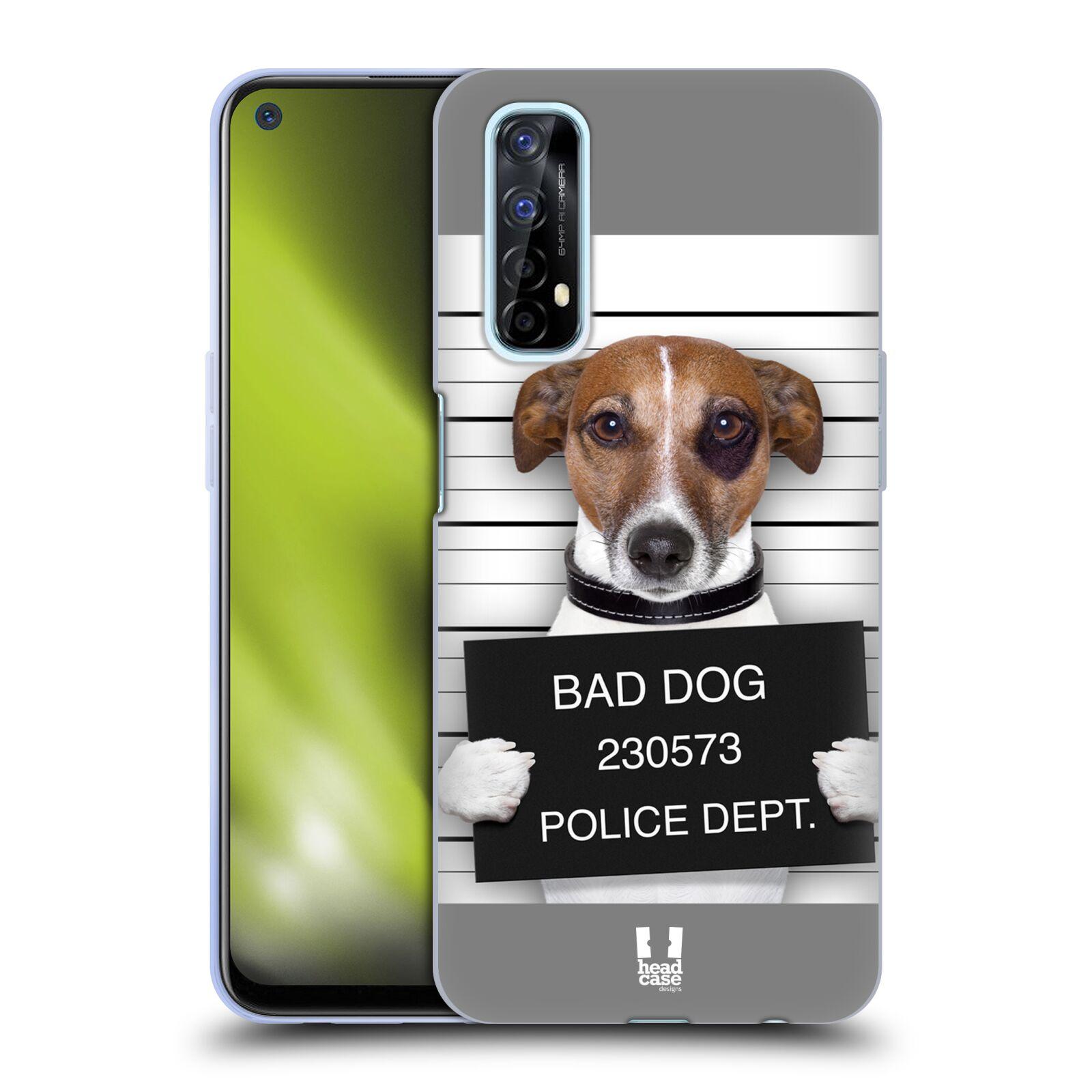 Silikonové pouzdro na mobil Realme 7 - Head Case - ZLEJ PEJSEK