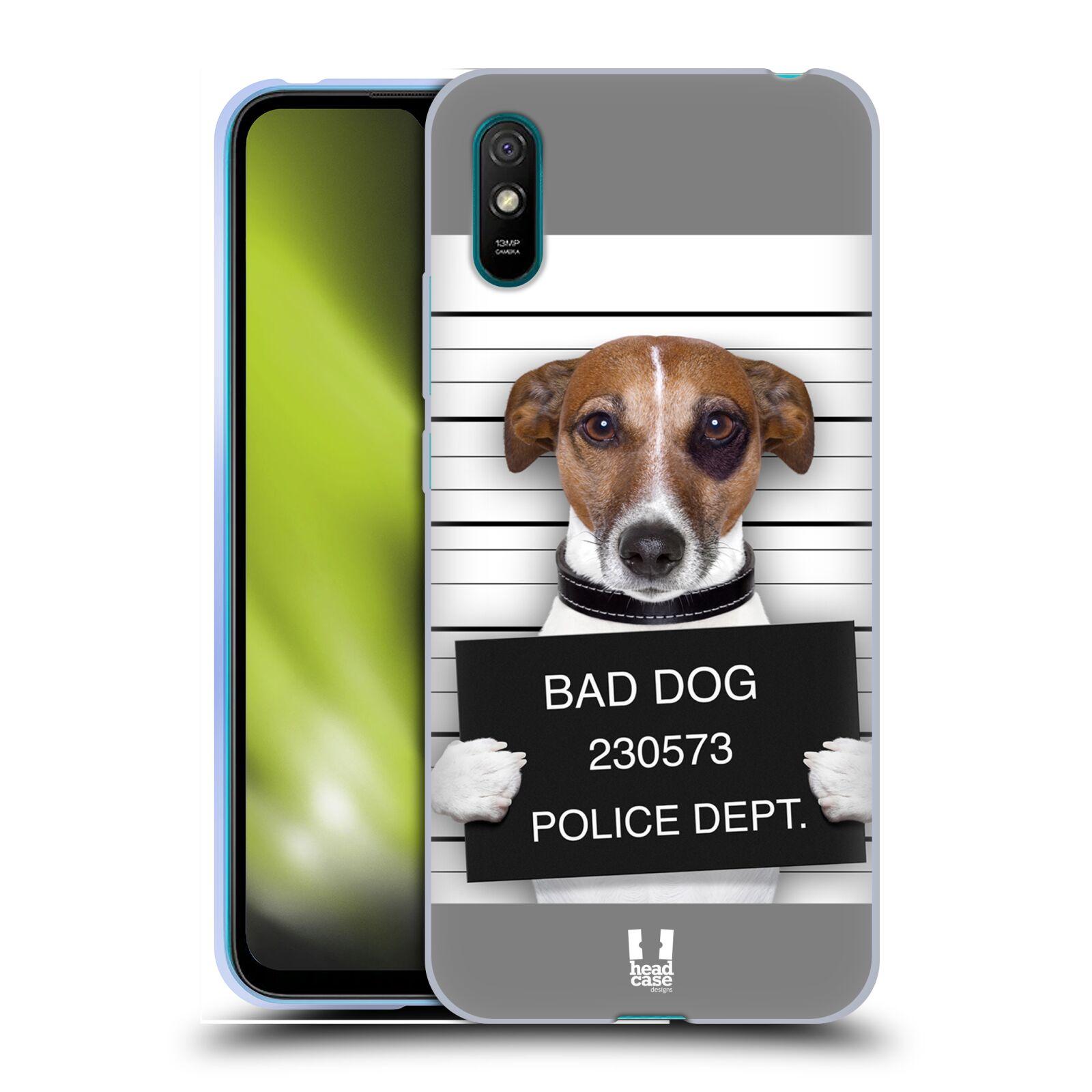Silikonové pouzdro na mobil Xiaomi Redmi 9A / 9AT - Head Case - ZLEJ PEJSEK