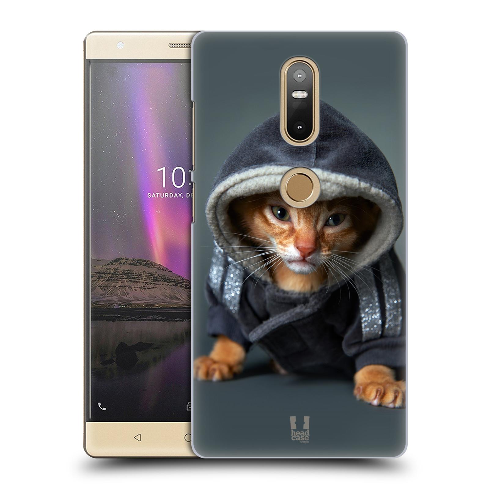 Plastové pouzdro na mobil Lenovo Phab 2 Plus - Head Case - KOTĚ V MIKČE