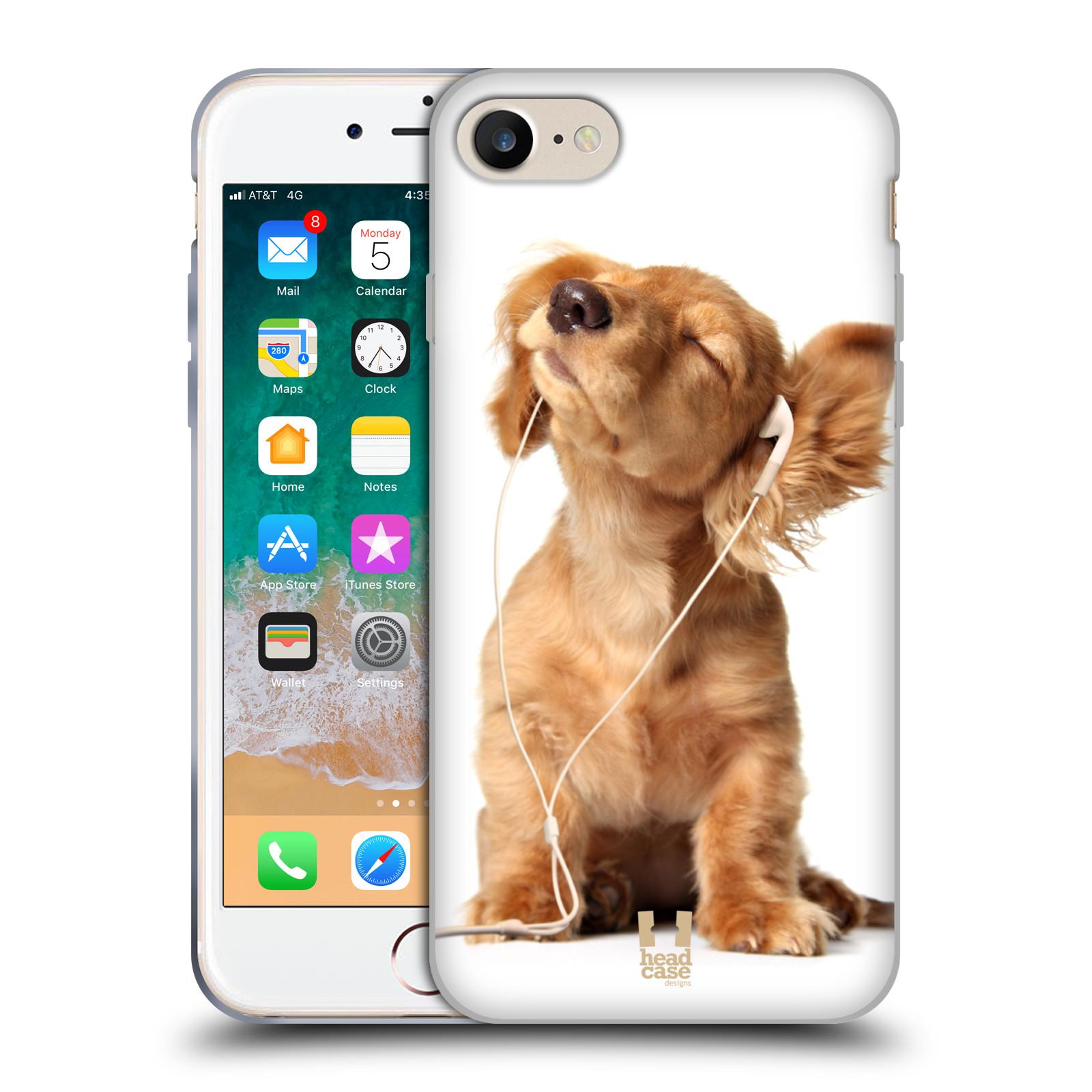 Silikonové pouzdro na mobil Apple iPhone SE (2020) - Head Case - ZAPOSLOUCHANÉ ŠTĚNĚ