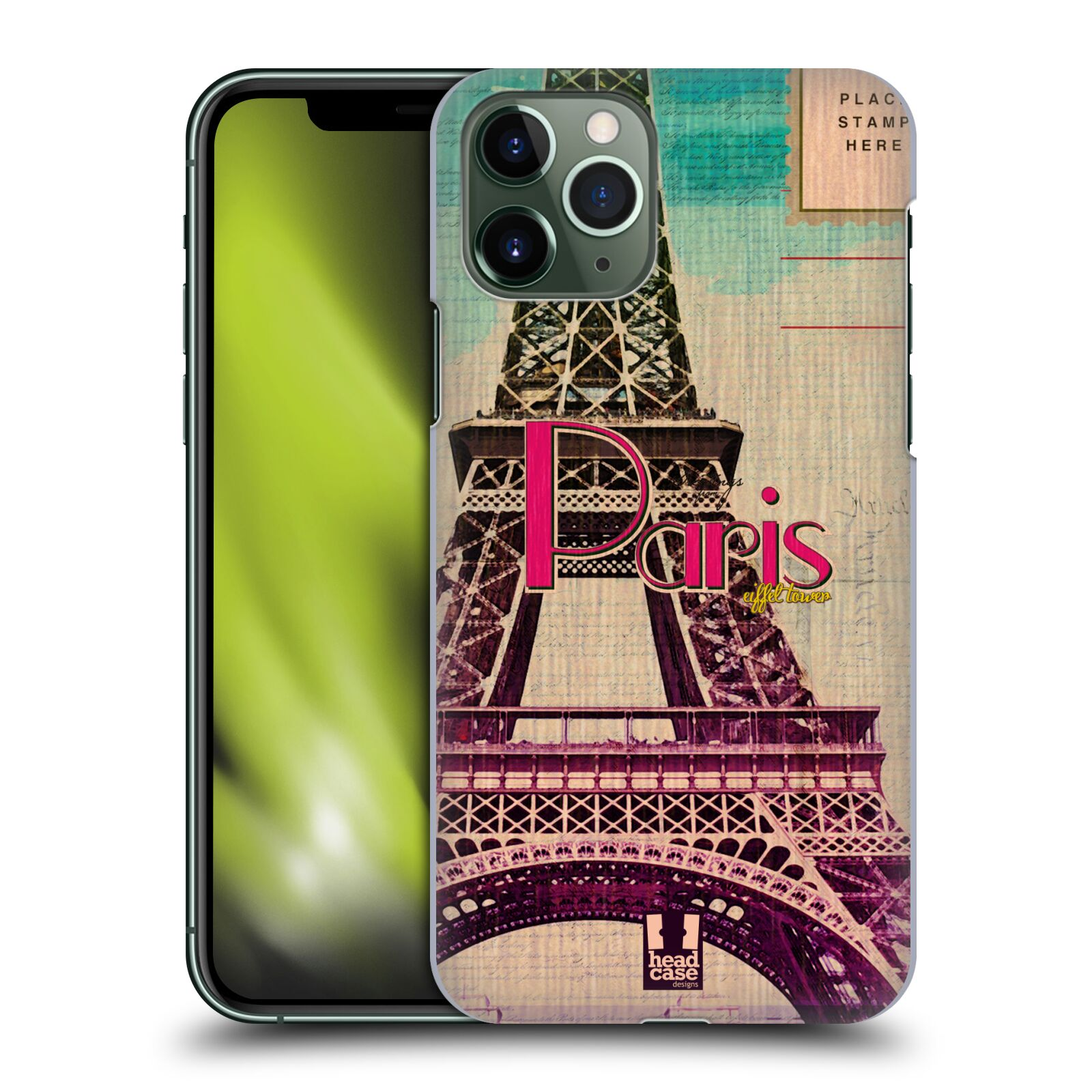 gucci iphone 7 rubber case - Plastové pouzdro na mobil Apple iPhone 11 Pro - Head Case - PARIS VINTAGE