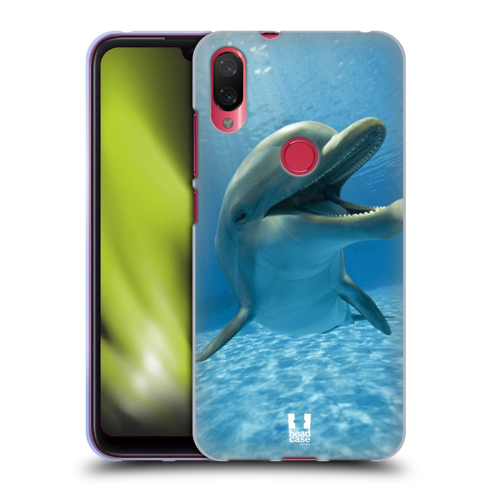 Silikonové pouzdro na mobil Xiaomi Mi Play - Head Case - DIVOČINA – DELFÍN