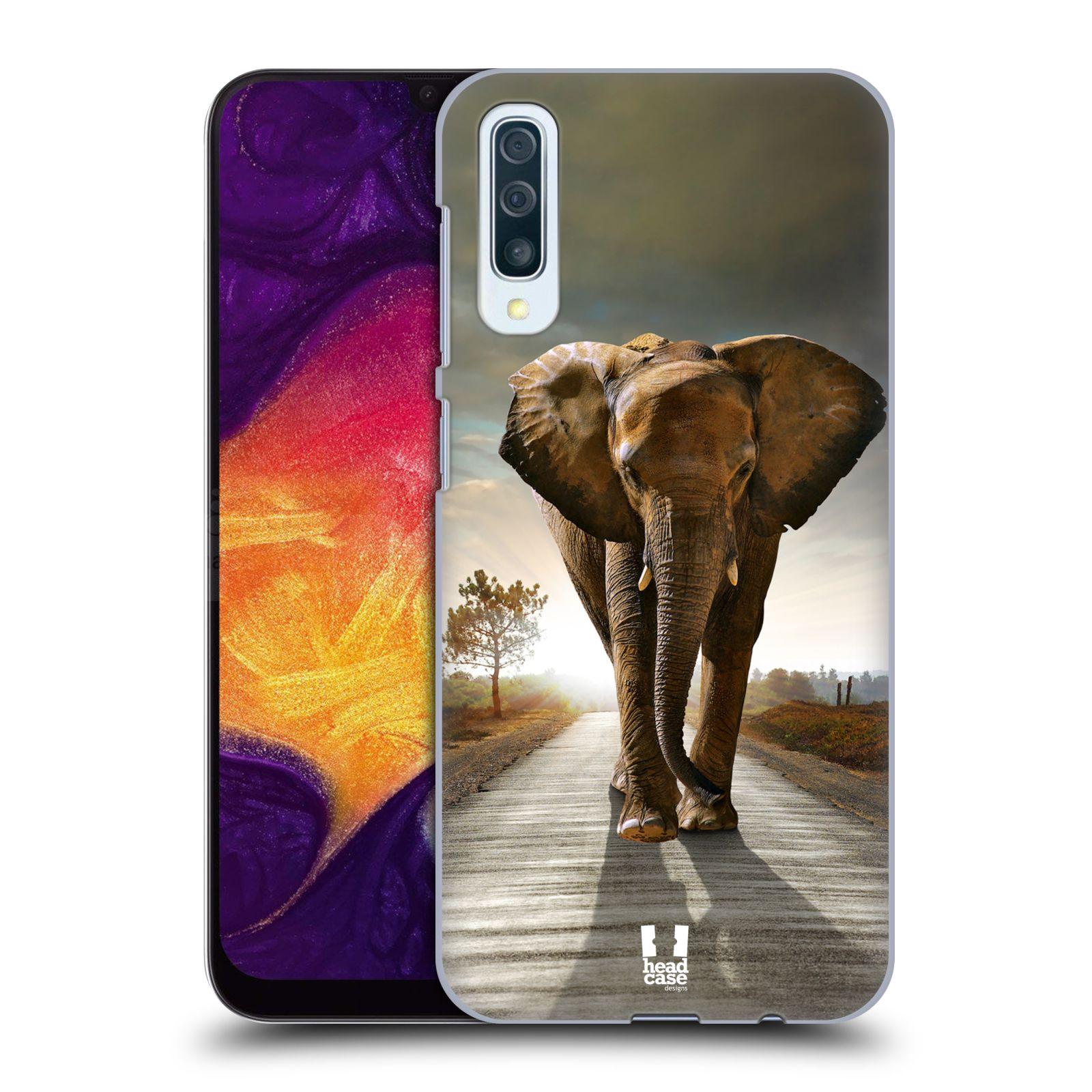 Plastové pouzdro na mobil Samsung Galaxy A50 / A30s - Head Case - DIVOČINA – SLON