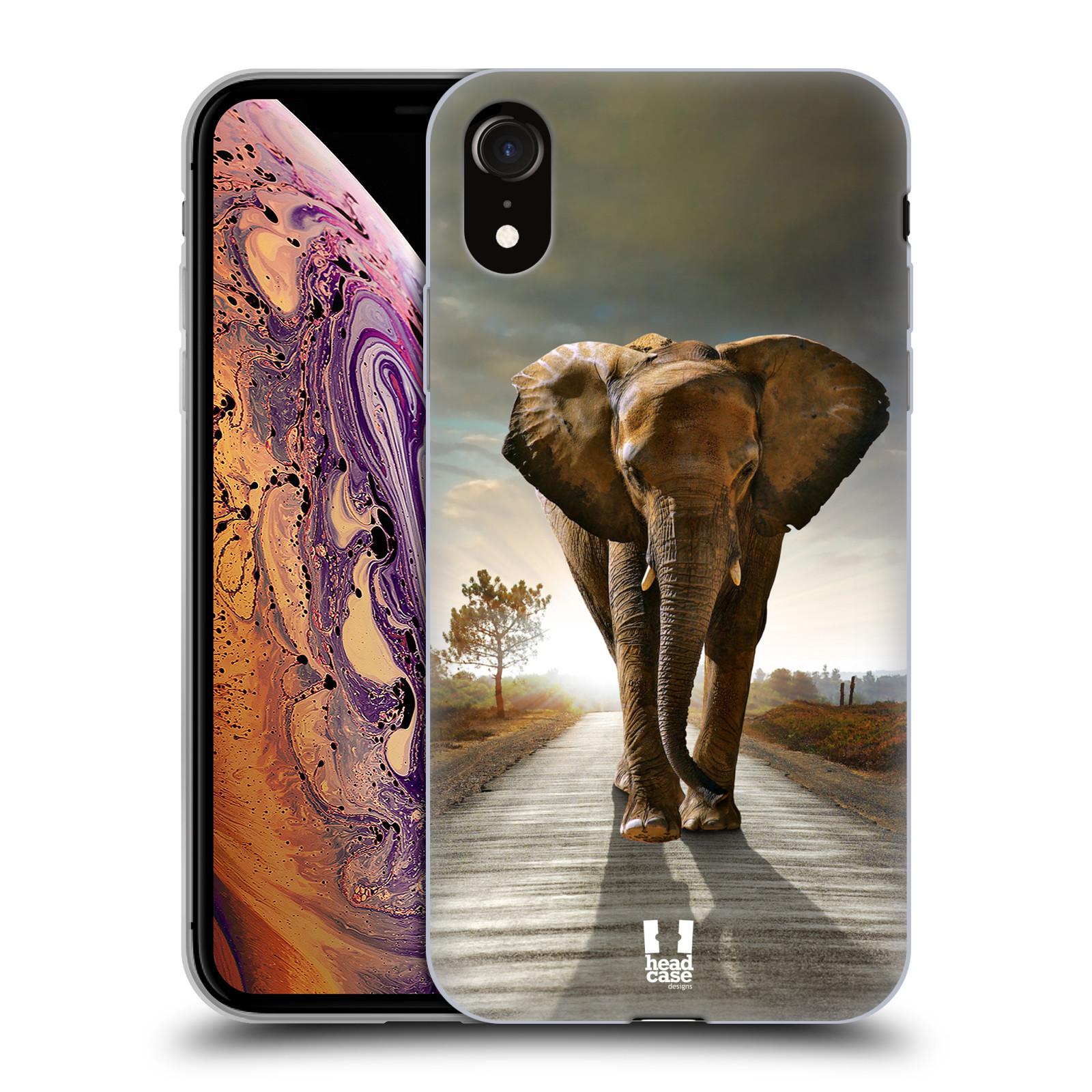 Silikonové pouzdro na mobil Apple iPhone XR - Head Case - DIVOČINA – SLON