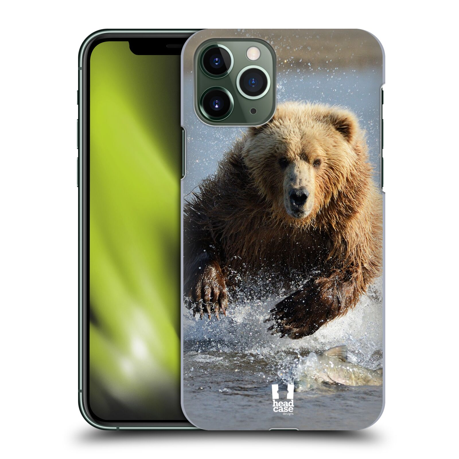 iphone 8 plus kryt original - Plastové pouzdro na mobil Apple iPhone 11 Pro - Head Case - DIVOČINA – GRIZZLY