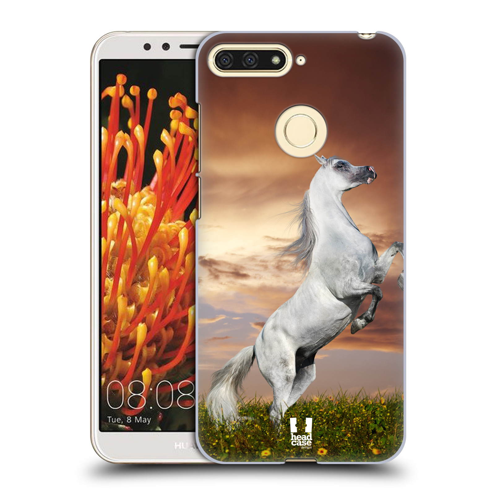 Plastové pouzdro na mobil Honor 7A - Head Case - DIVOČINA – KŮŇ