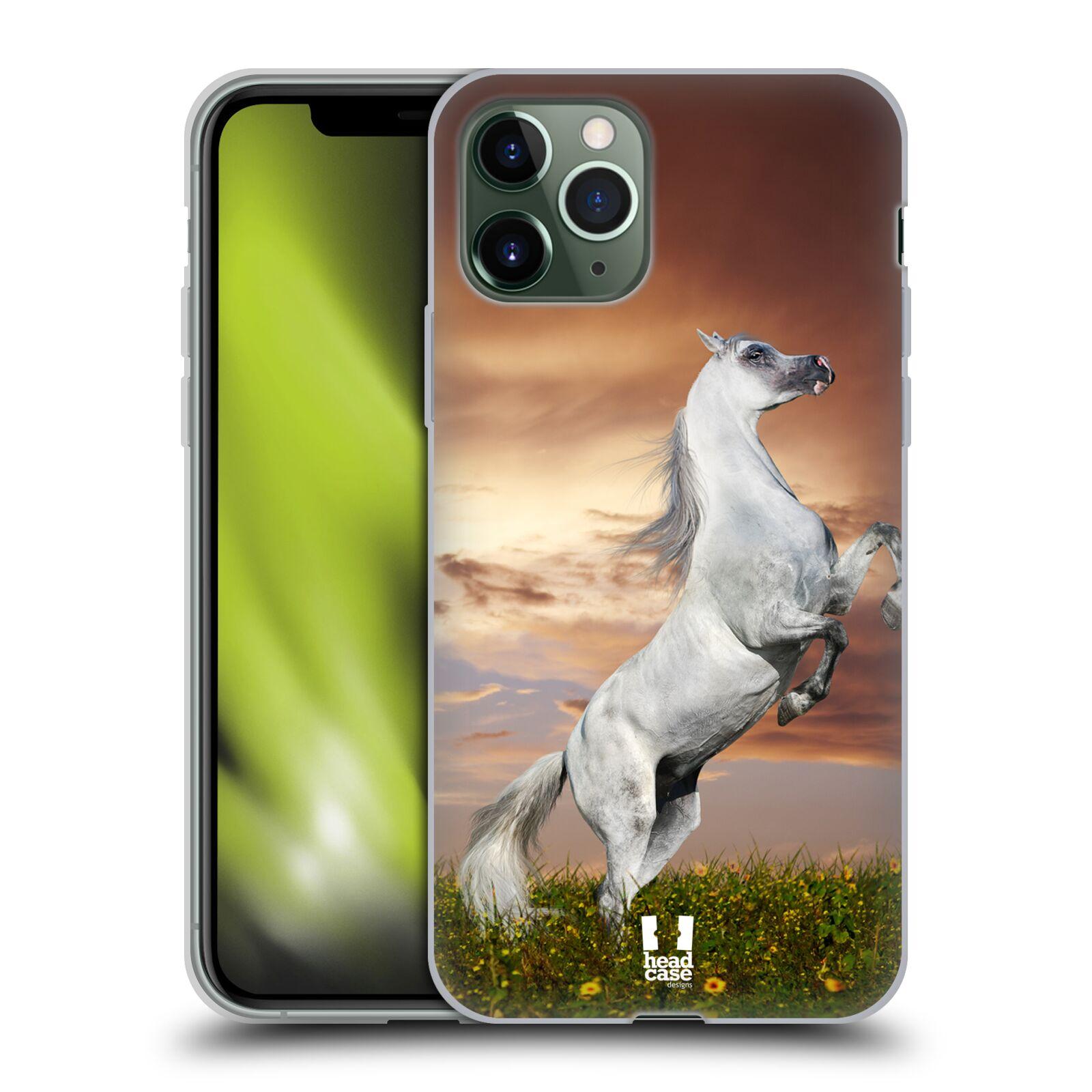silikonový krytu na iphone 8 plus | Silikonové pouzdro na mobil Apple iPhone 11 Pro - Head Case - DIVOČINA – KŮŇ