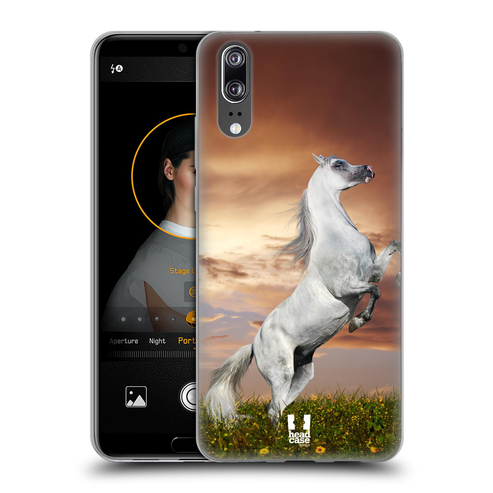 Silikonové pouzdro na mobil Huawei P20 - Head Case - DIVOČINA – KŮŇ