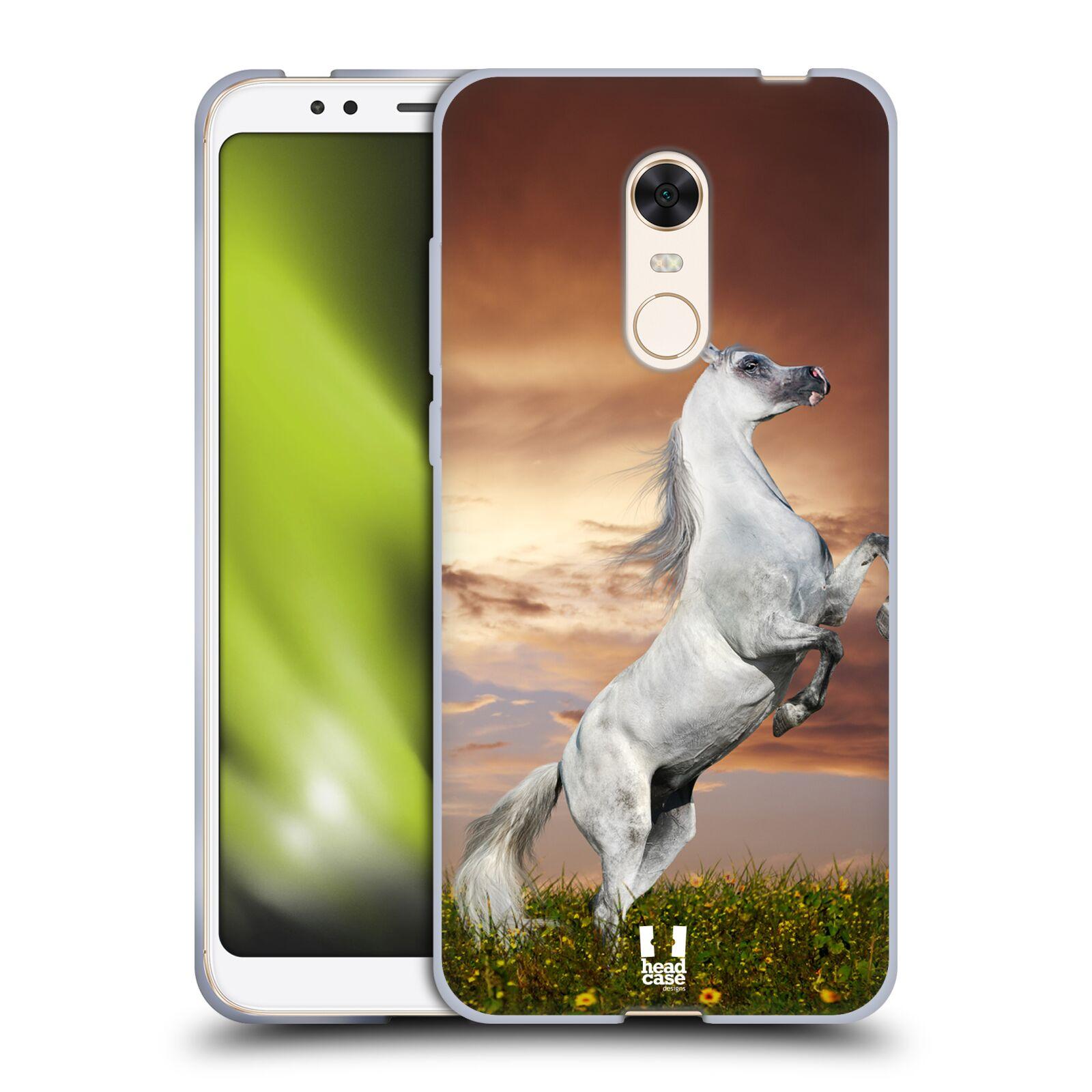 Silikonové pouzdro na mobil Xiaomi Redmi 5 Plus - Head Case - DIVOČINA – KŮŇ
