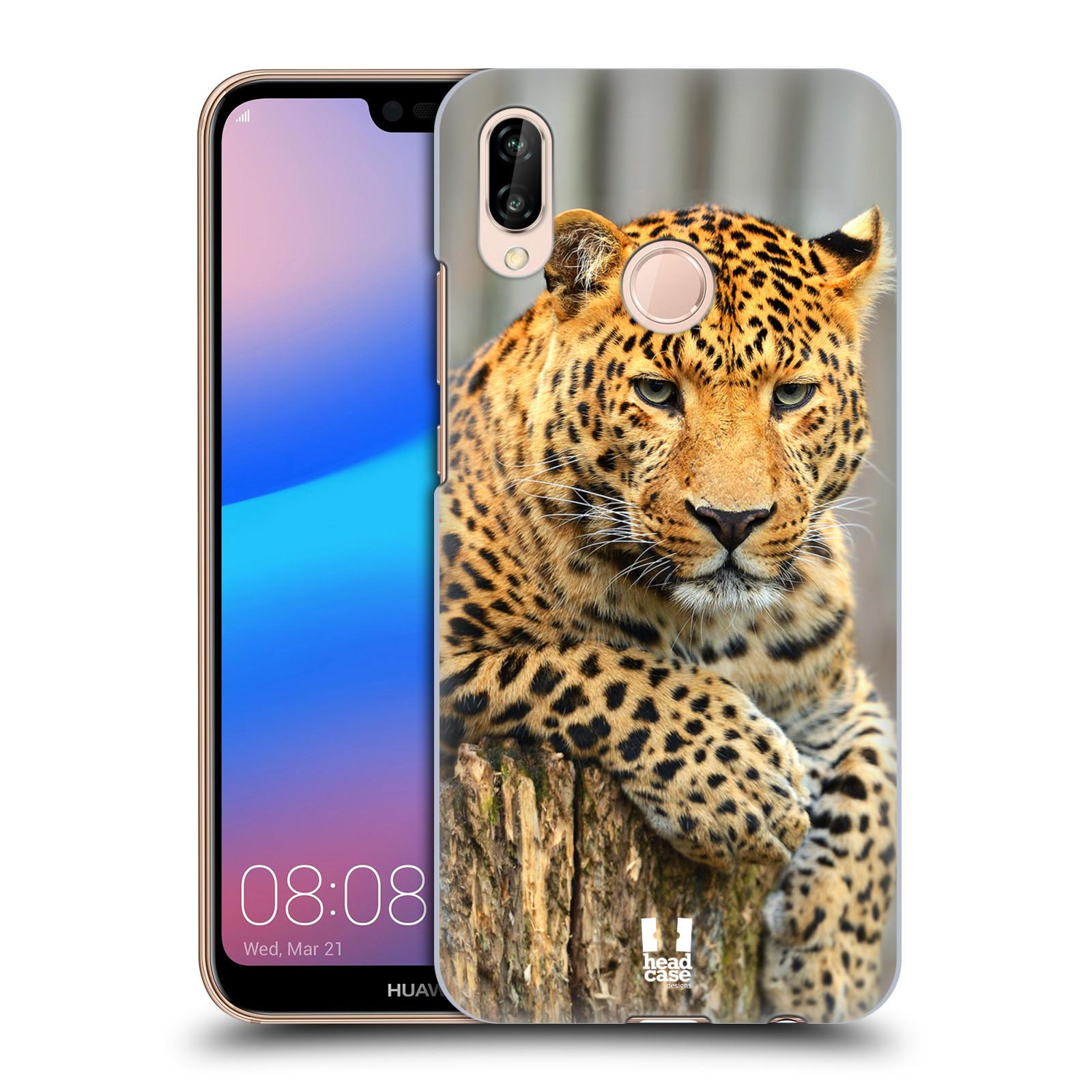 Plastové pouzdro na mobil Huawei P20 Lite - Head Case - DIVOČINA – LEOPARD