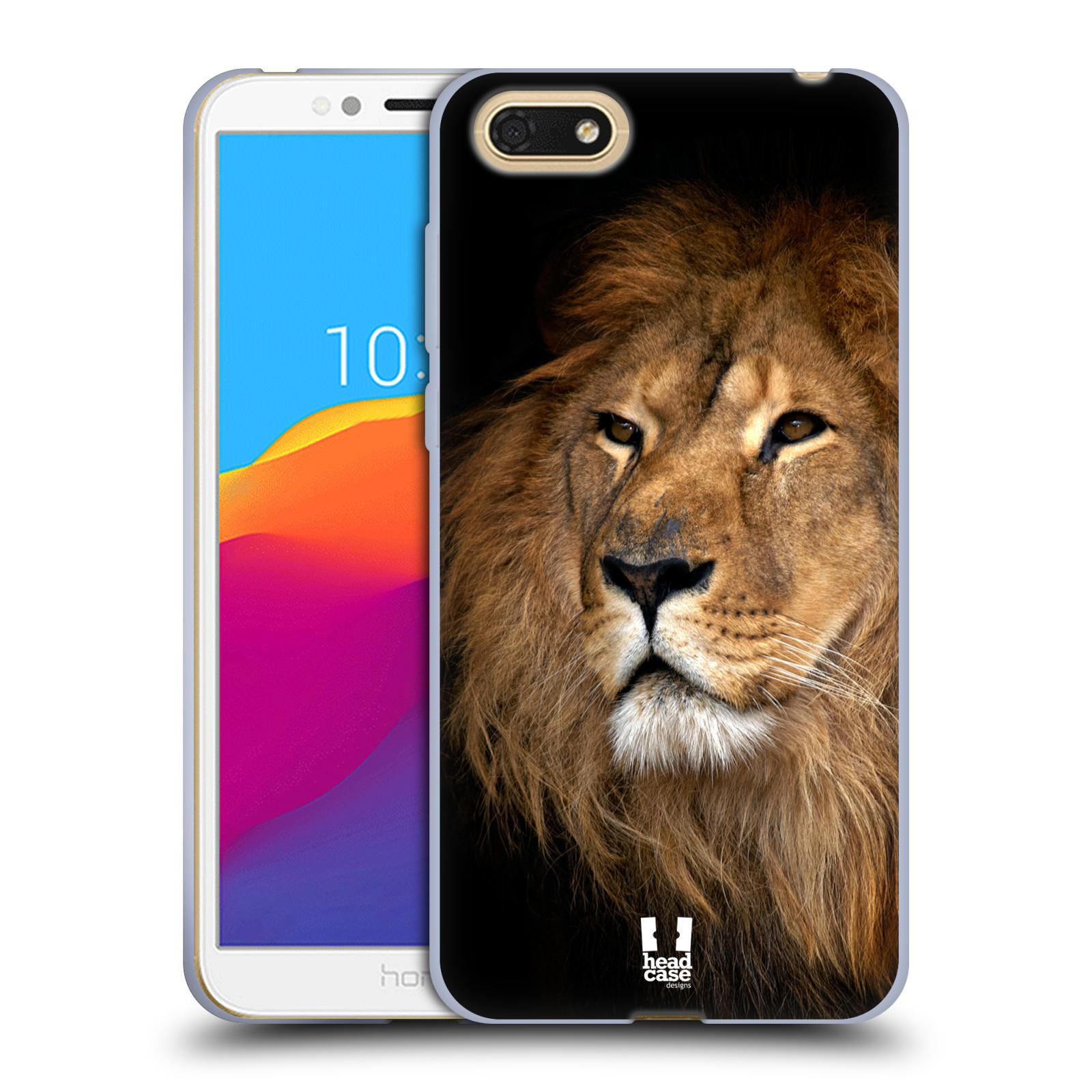 Silikonové pouzdro na mobil Honor 7S - Head Case - DIVOČINA – LEV